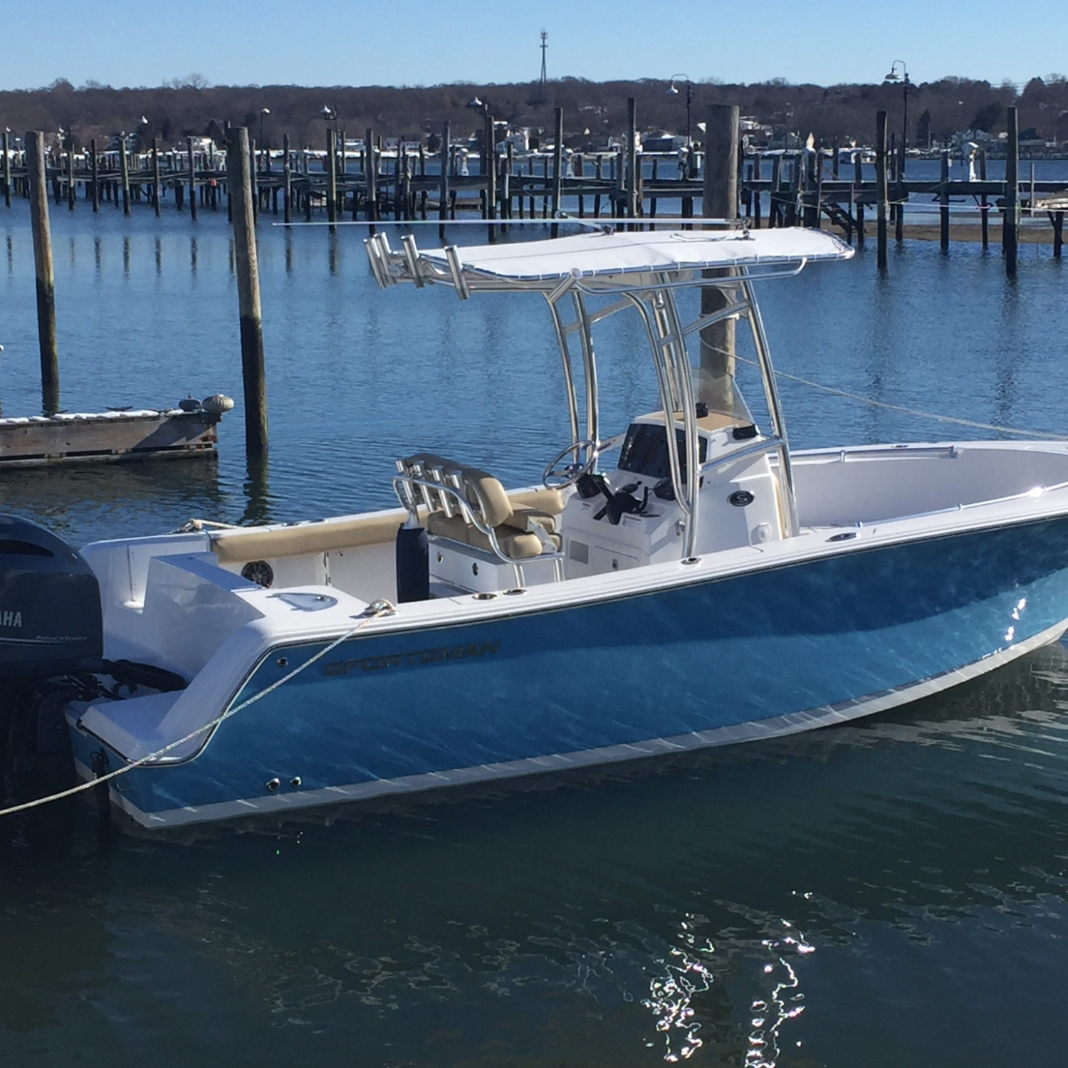 Title: Is it time???? - On board their Sportsman Open 232 Center Console - Location: Niantic ct. Participating in the Photo Contest #SportsmanMarch2018