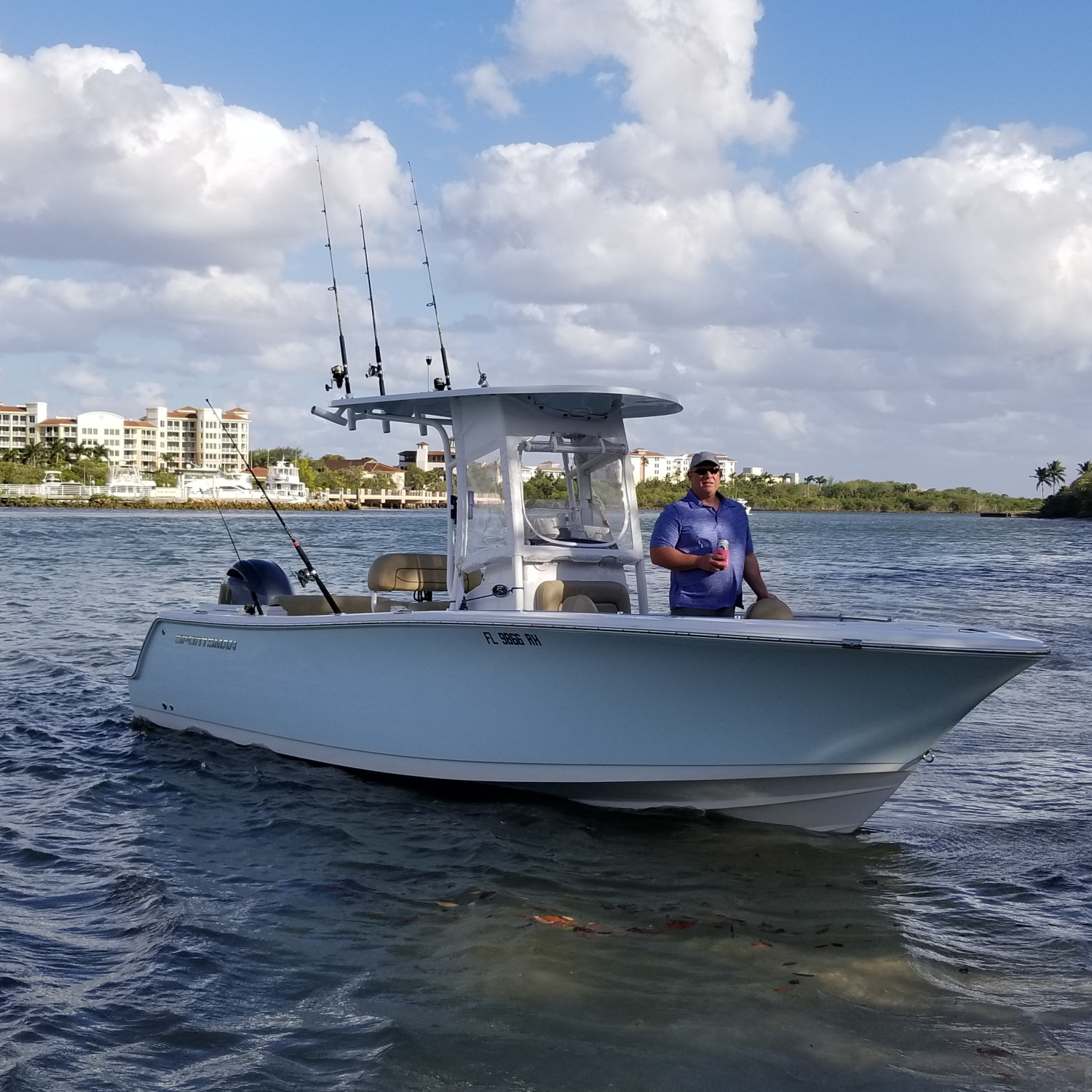 Title: Jupiter inlet pit stop - On board their Sportsman Open 232 Center Console - Location: Jupiter, Fl. Participating in the Photo Contest #SportsmanMarch2018