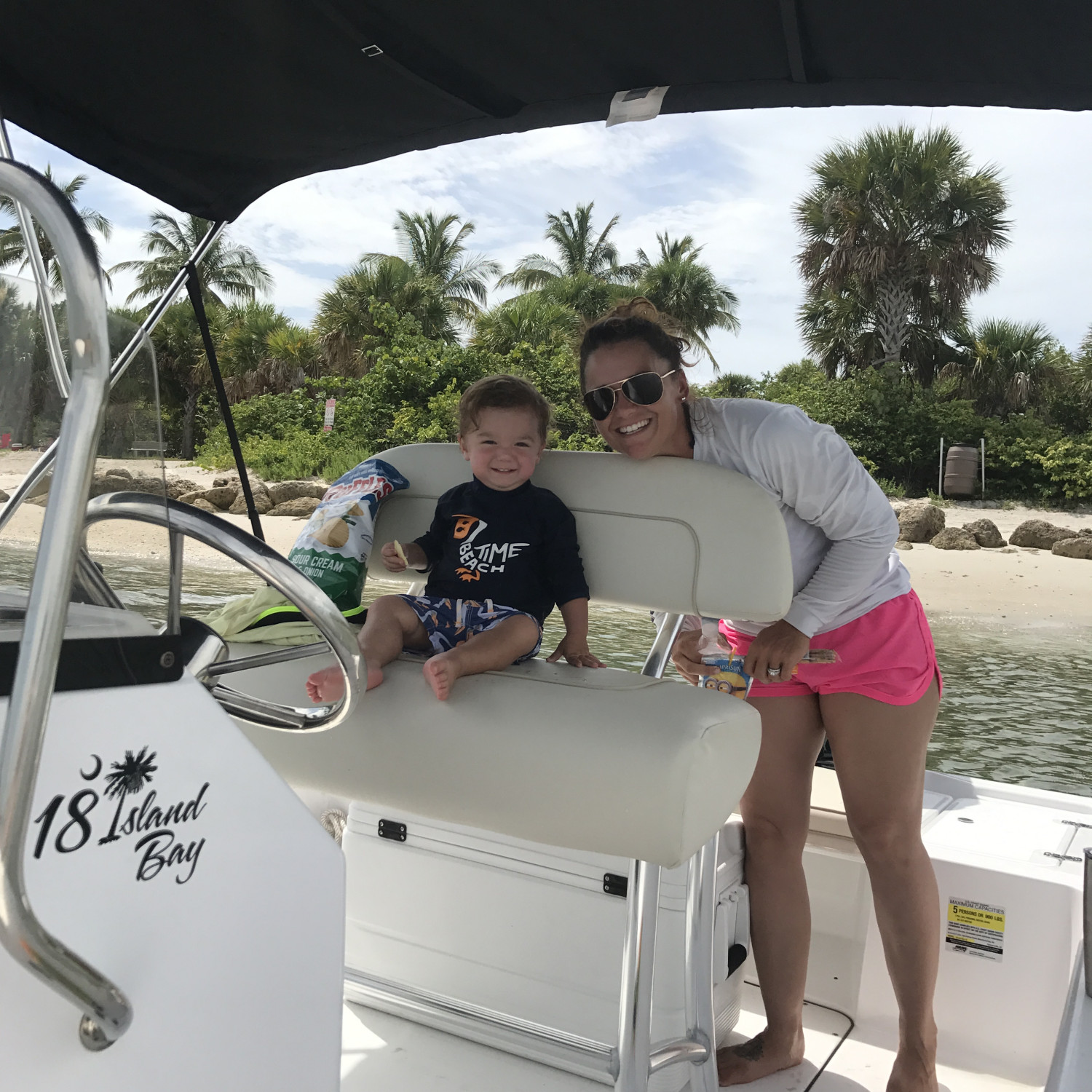 Title: Island time - On board their Sportsman Island Bay 18 Bay Boat - Location: Palm Beach FL. Participating in the Photo Contest #SportsmanMarch2018