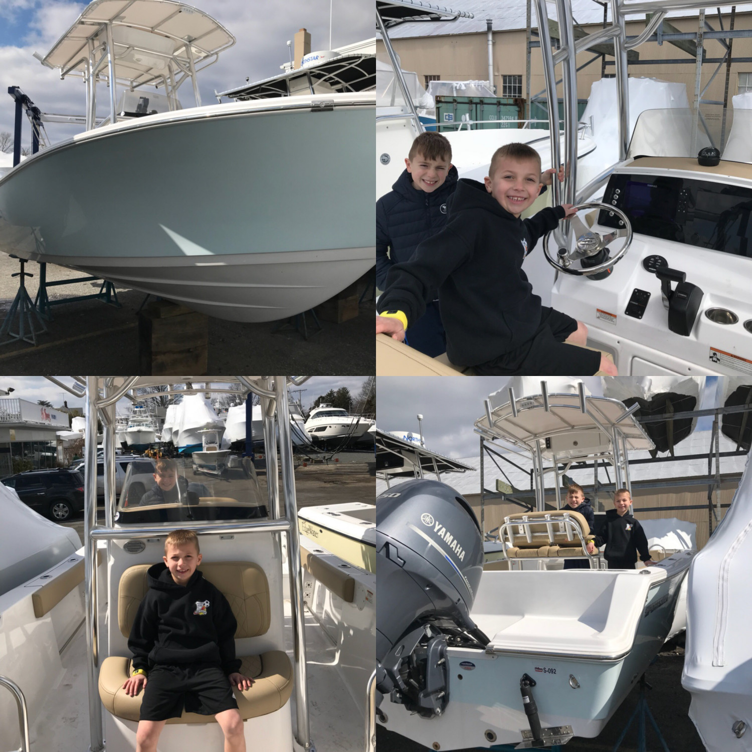 Title: New boat - On board their Sportsman Open 212 Center Console - Location: Brielle.NJ. Participating in the Photo Contest #SportsmanMarch2018