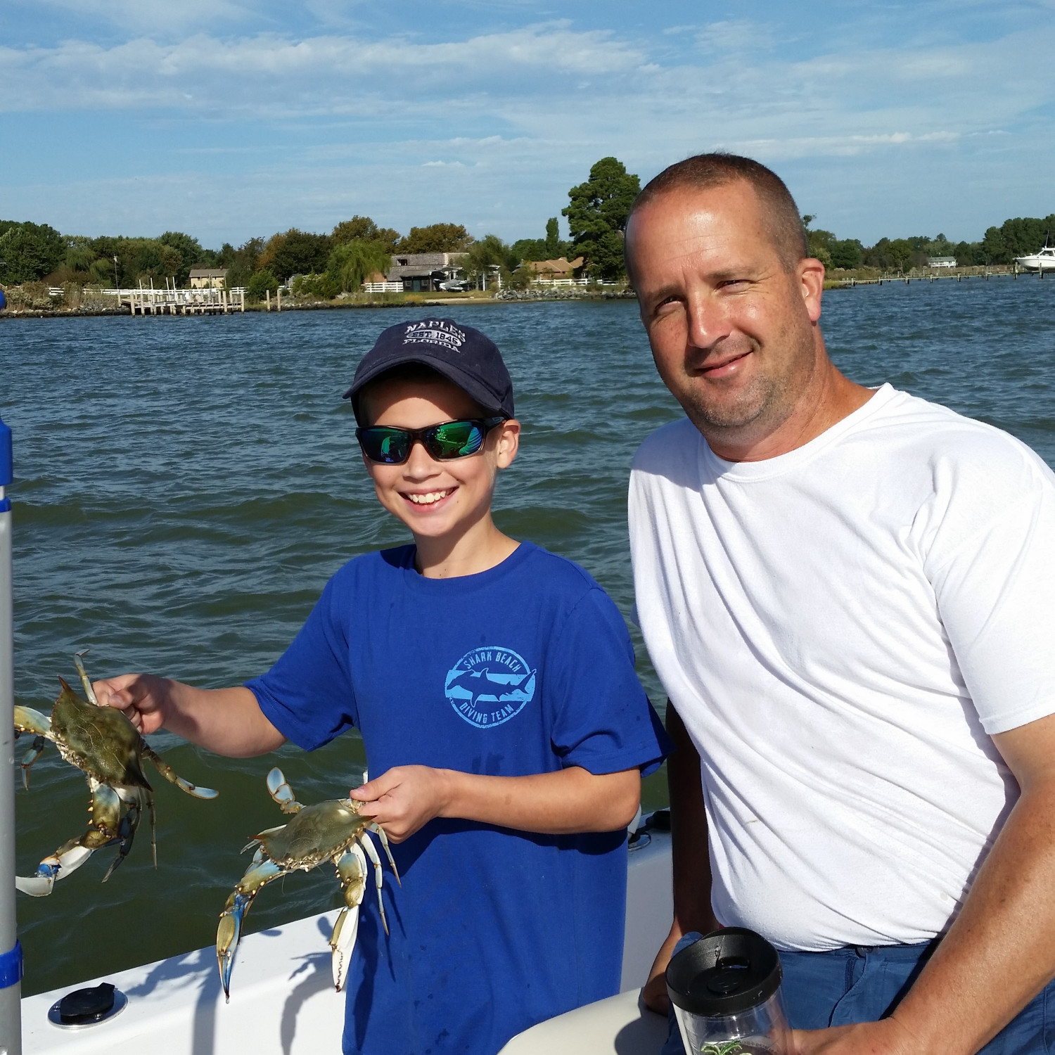 Title: Crabbing on the Bay with the Island Reef - On board their Sportsman Island Reef 19 Center Console - Location: Kent Narrows, MD. Participating in the Photo Contest #SportsmanMarch2018