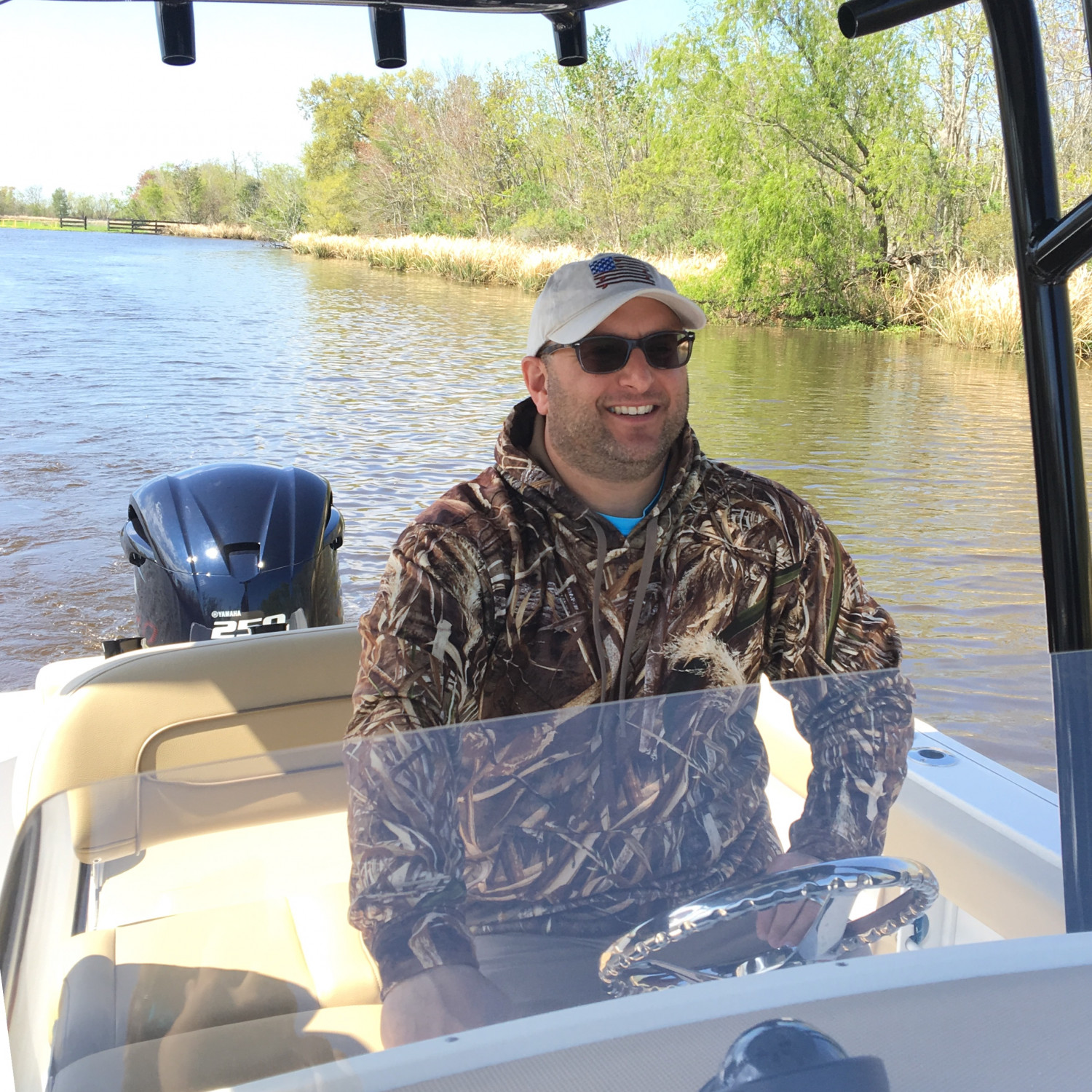 Title: Sunday Cruise - On board their Sportsman Open 232 Center Console - Location: Laffite, La. Participating in the Photo Contest #SportsmanMarch2018