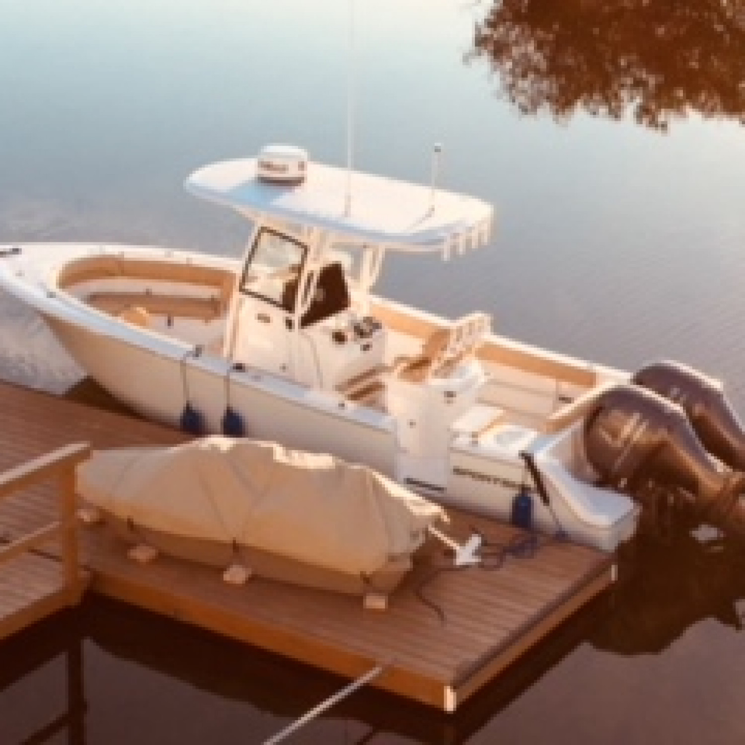 "Title: At home in our ""front yard"" - On board their Sportsman Heritage 251 Center Console - Location: Hernando Beach Florida. Participating in the Photo Contest #SportsmanMarch2018"