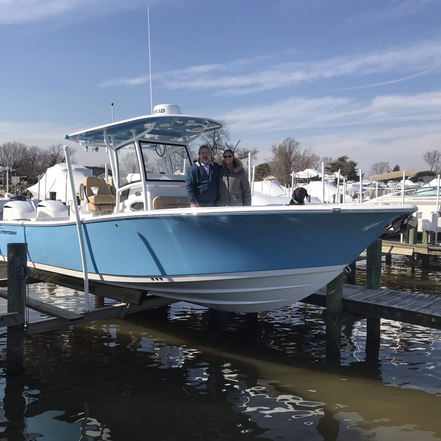 Title: Boat delivery - On board their Sportsman Open 282 Center Console - Location: Essex, md. Participating in the Photo Contest #SportsmanMarch2018