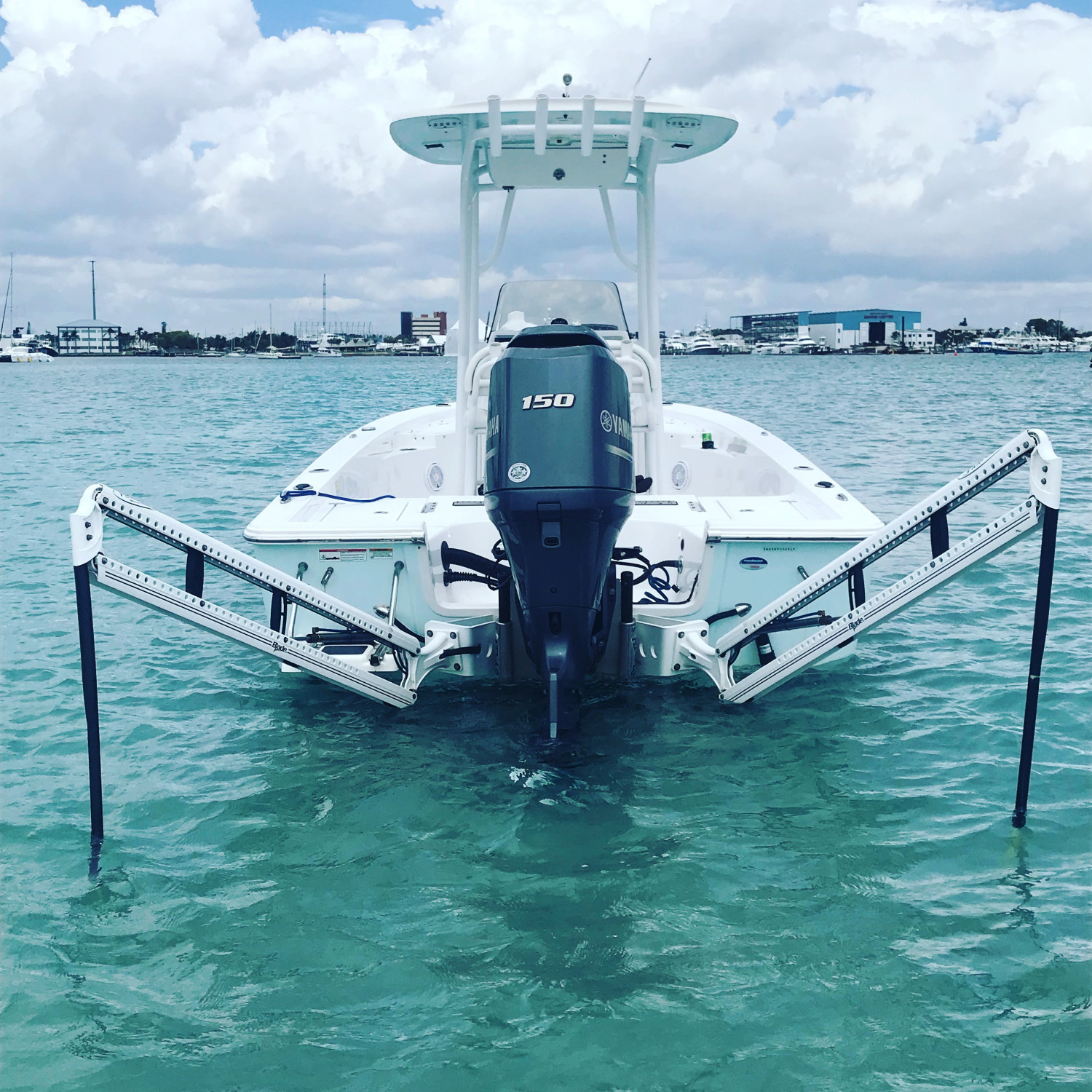Title: As good as it gets - On board their Sportsman Masters 227 Bay Boat - Location: West Palm Beach Florida. Participating in the Photo Contest #SportsmanMay2018
