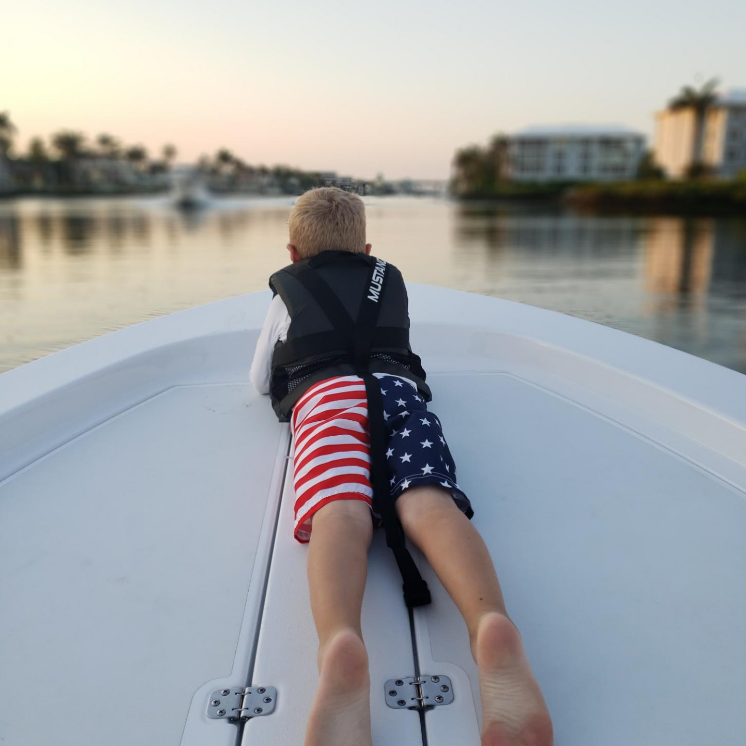 Title: Cruising - On board their Sportsman Island Bay 18 Bay Boat - Location: Delray Beach Florida. Participating in the Photo Contest #SportsmanMay2018