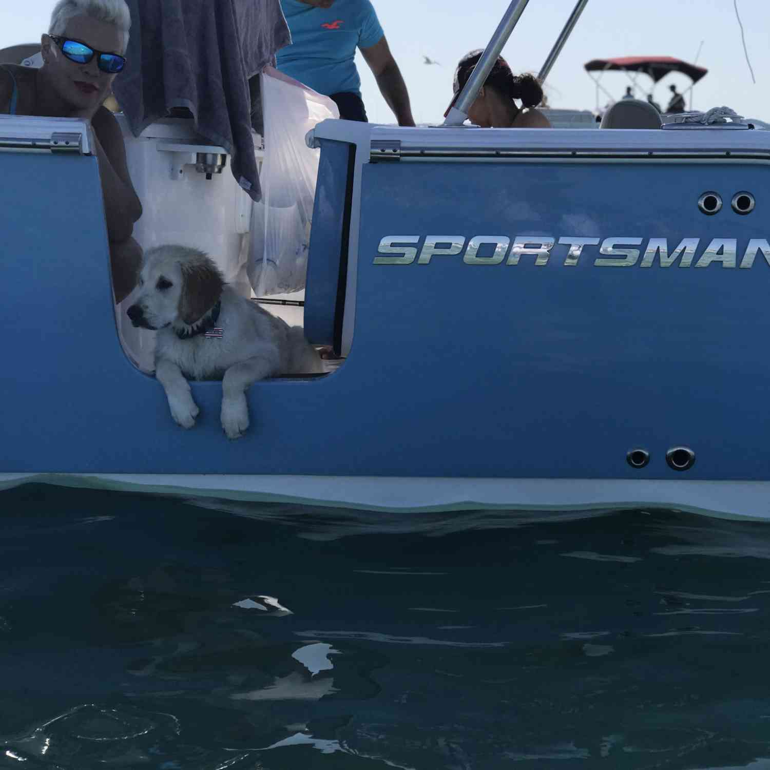 Title: Thanks Ralph - On board their Sportsman Open 252 Center Console - Location: Crab island Destin Fl. Participating in the Photo Contest #SportsmanMay2018