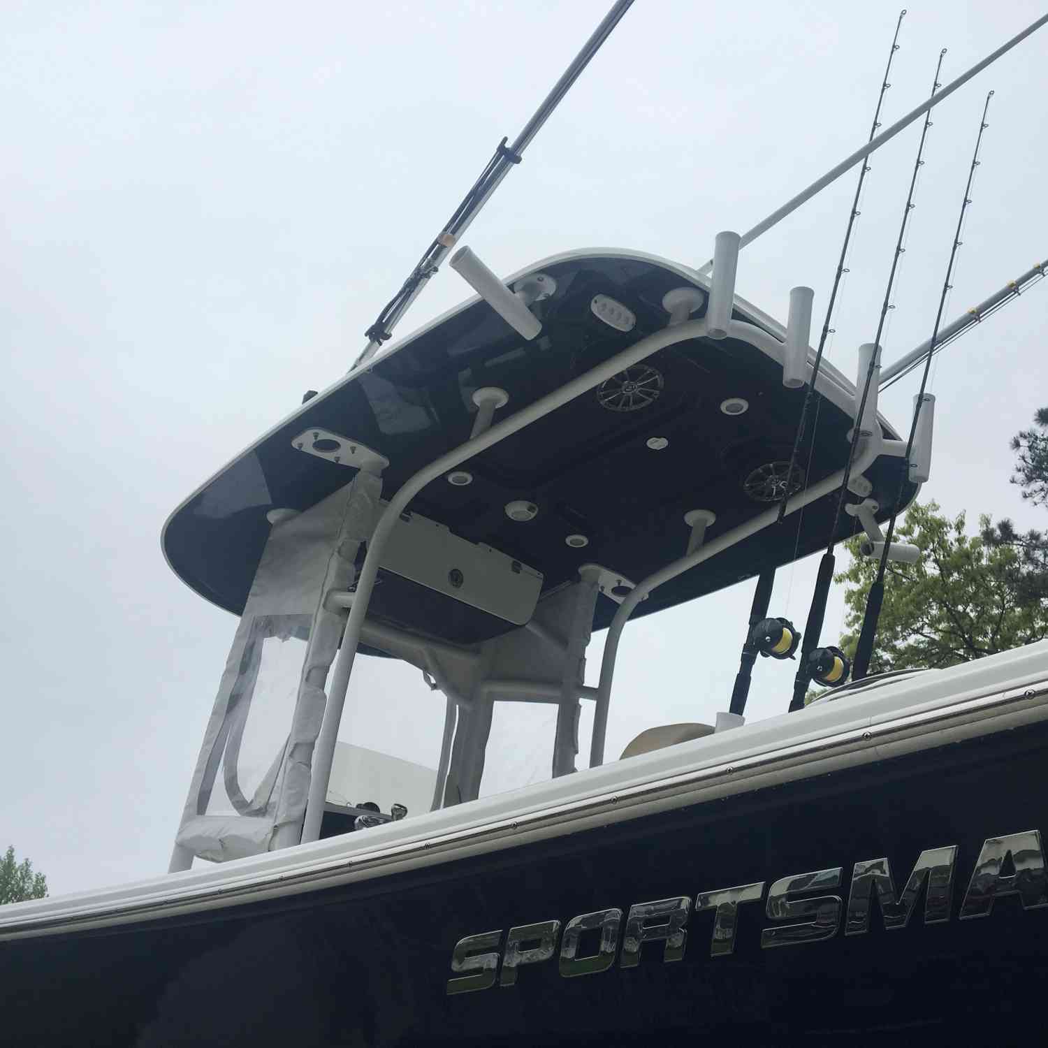 Title: Current Obsession - On board their Sportsman Heritage 231 Center Console - Location: Miller place. Participating in the Photo Contest #SportsmanMay2018
