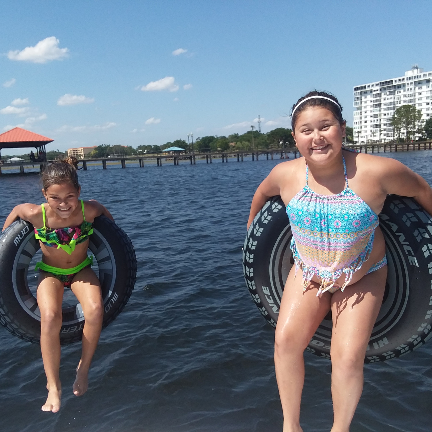 Title: Kids having fun - On board their Sportsman Island Bay 20 Bay Boat - Location: Sebring, Fl. Participating in the Photo Contest #SportsmanMay2018