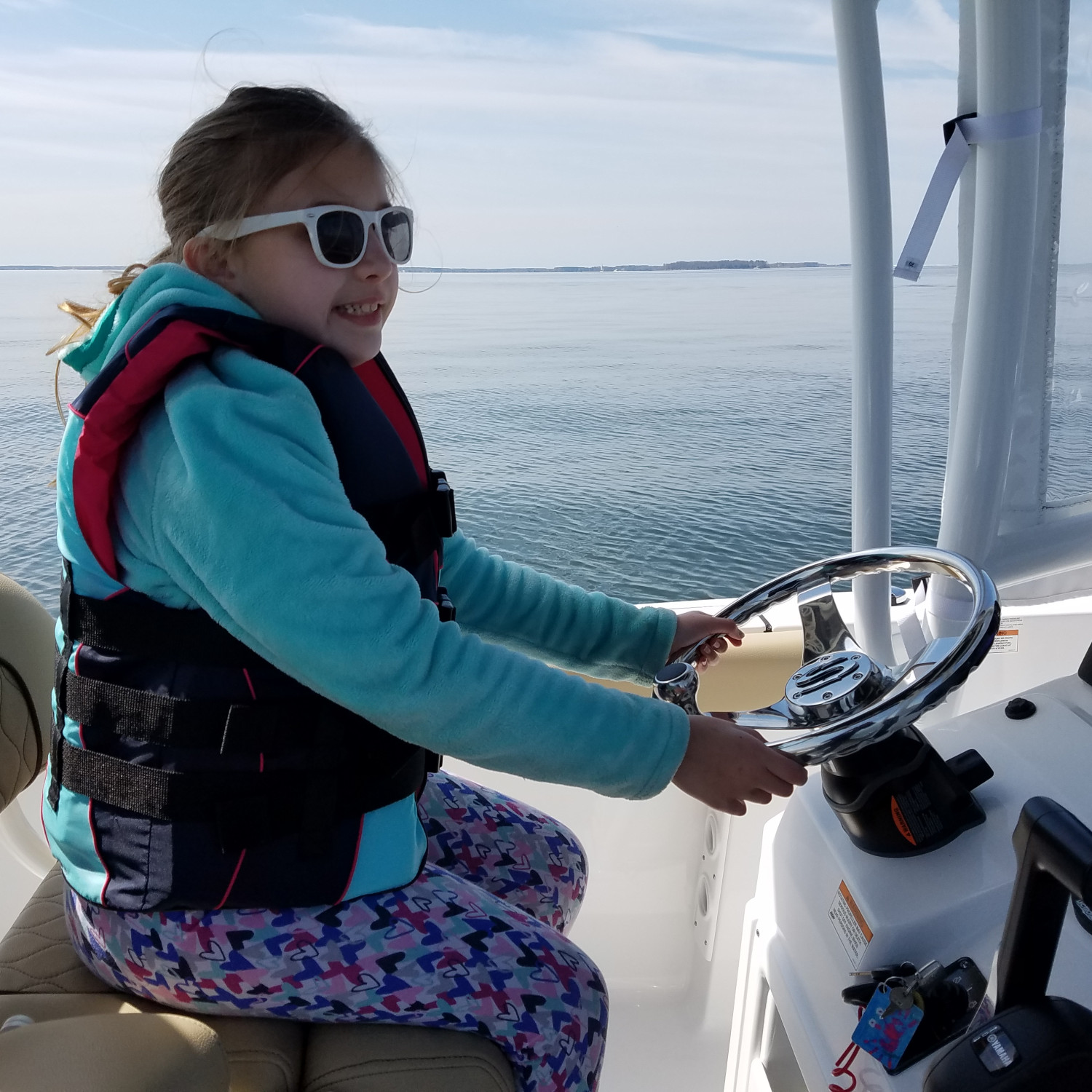 Title: My captain! - On board their Sportsman Heritage 231 Center Console - Location: Kent Narrows, MD. Participating in the Photo Contest #SportsmanMay2018