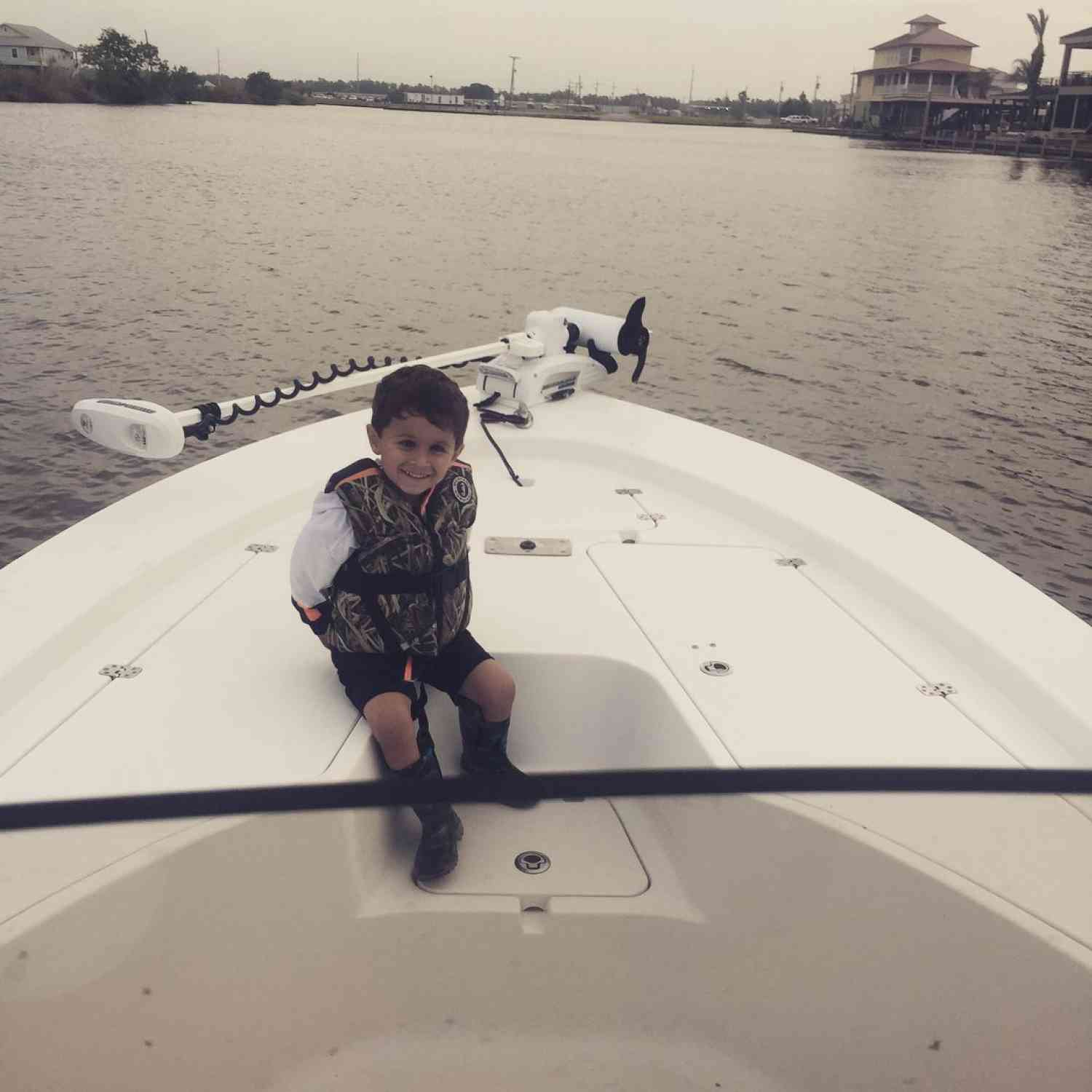 Title: Captain of the Masters 247! - On board their Sportsman Masters 247 Bay Boat - Location: Belle Chasse, LA. Participating in the Photo Contest #SportsmanMay2018