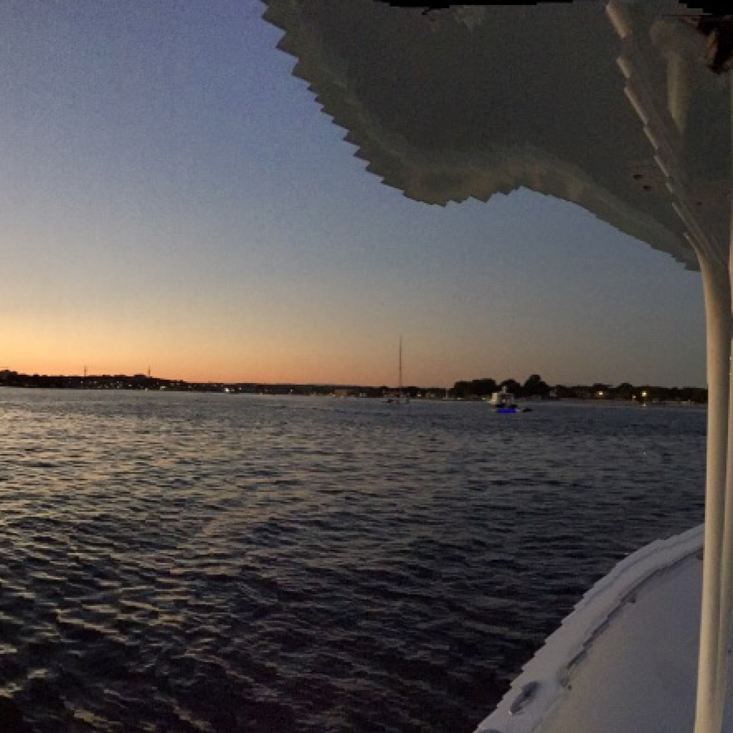 Title: Sunset PANO - On board their Sportsman Open 252 Center Console - Location: NY. Participating in the Photo Contest #SportsmanMay2018