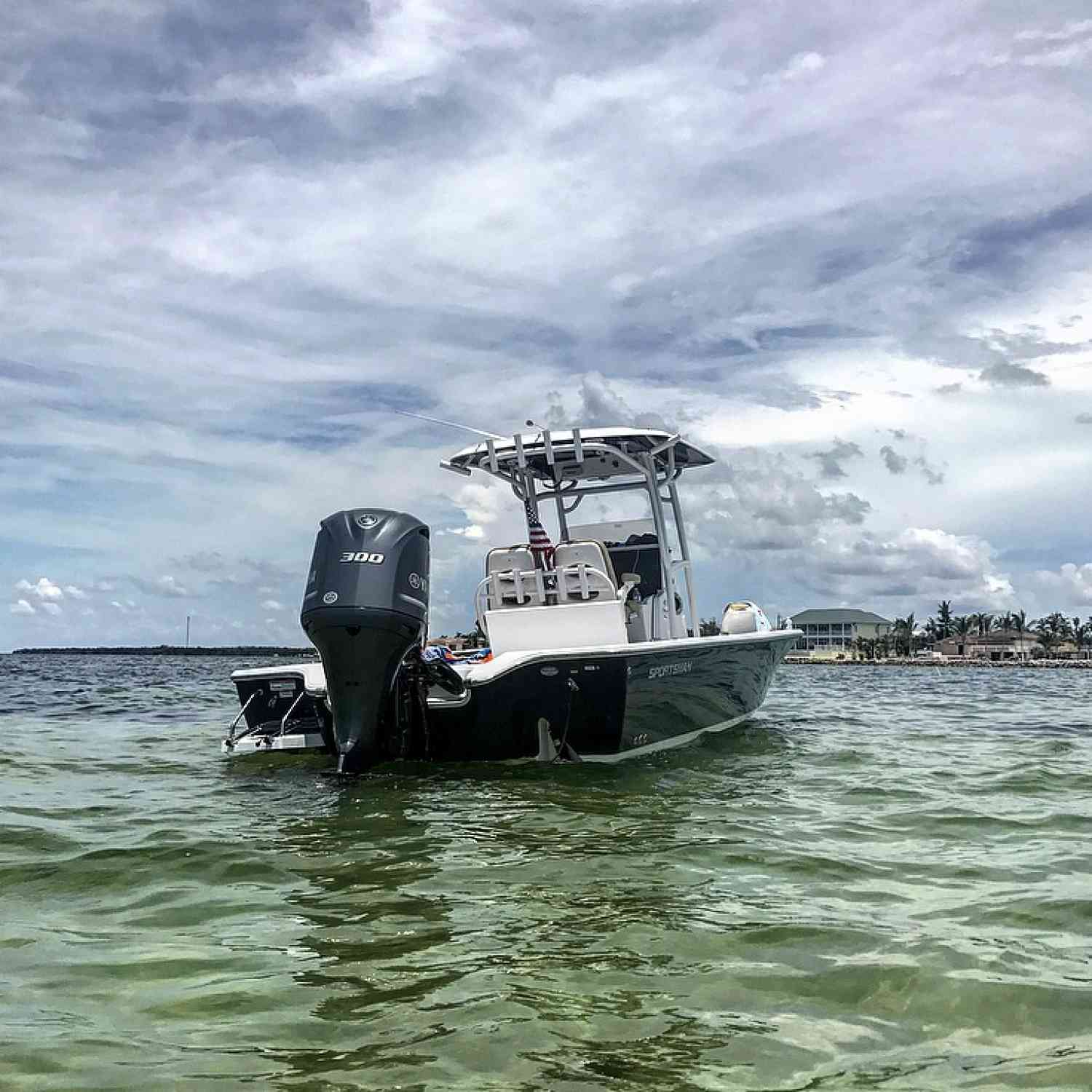 Title: Sand bar sled - On board their Sportsman Masters 267 Bay Boat - Location: Key west Florida. Participating in the Photo Contest #SportsmanOctober2018