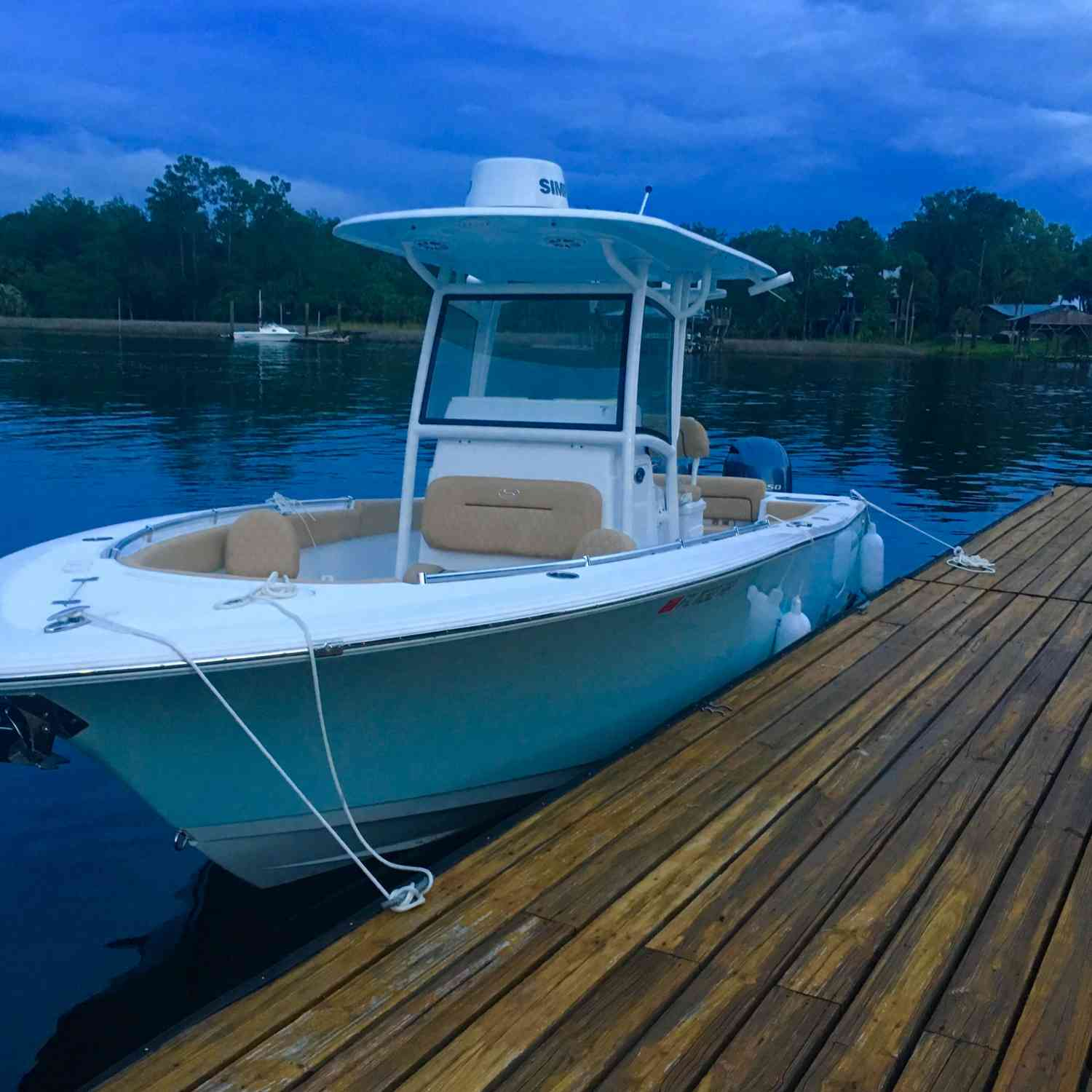 Title: Pura Vida - On board their Sportsman Heritage 251 Center Console - Location: Steinhatchee, Florida. Participating in the Photo Contest #SportsmanSeptember2018