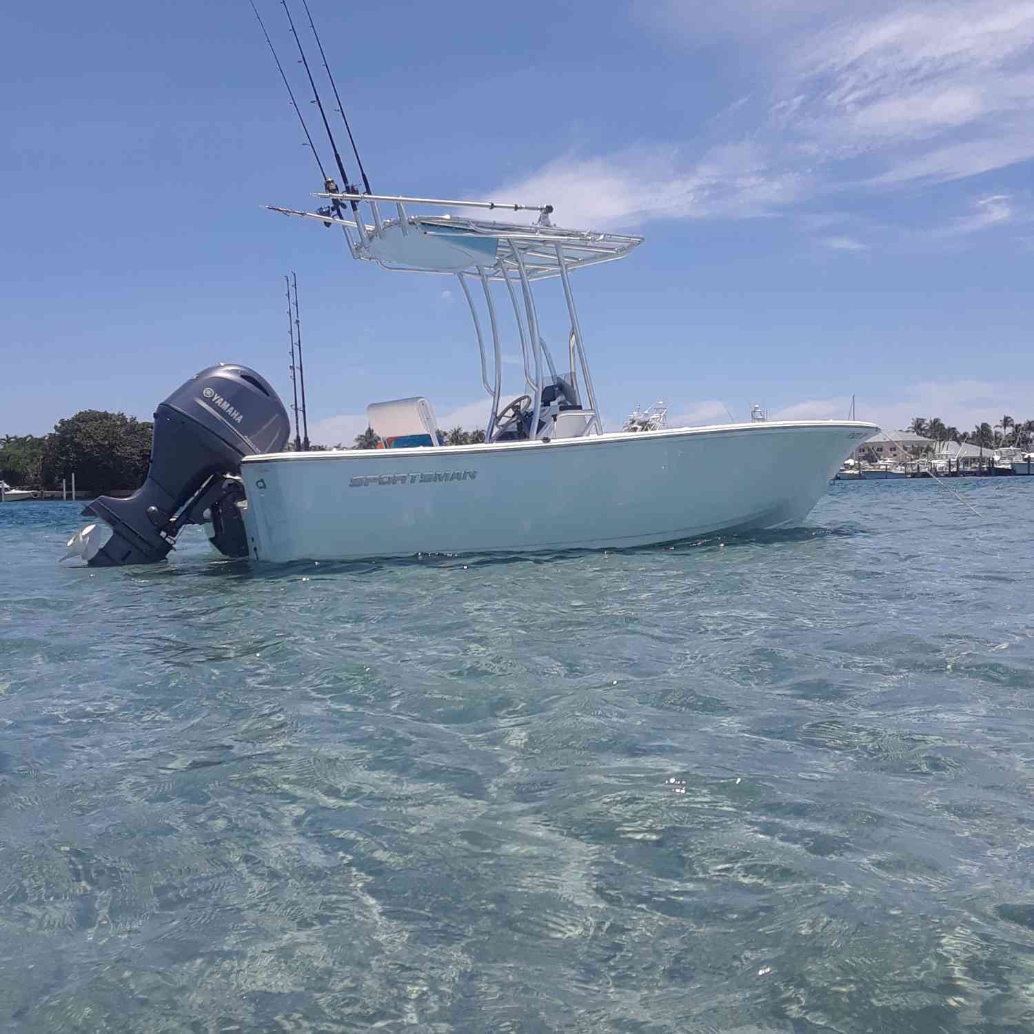 Title: Peanut island sand bar - On board their Sportsman Island Reef 19 Center Console - Location: Riviera beach. Participating in the Photo Contest #SportsmanSeptember2018