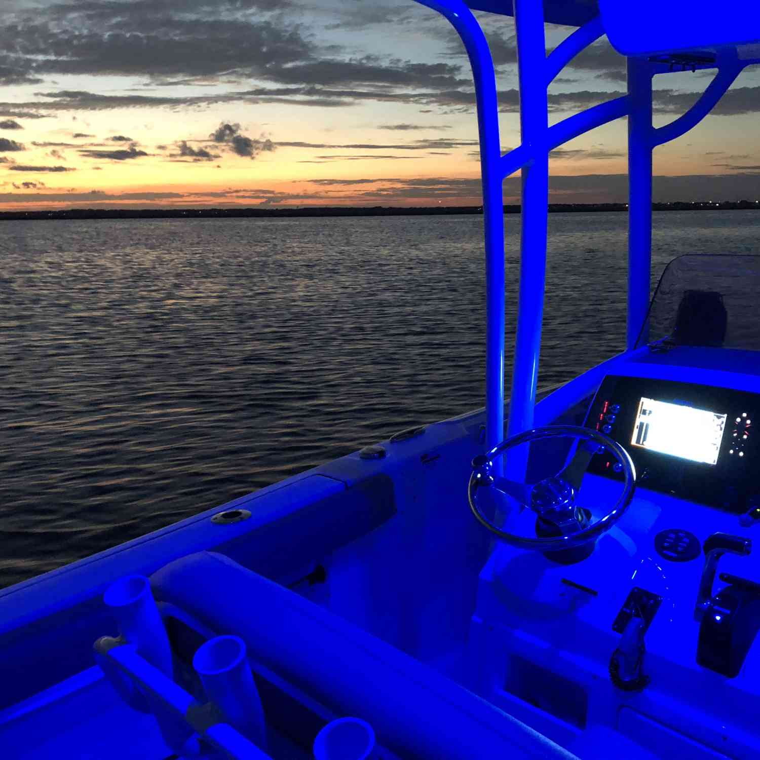 Title: Sunset Cruise on the 232 Open - On board their Sportsman Open 232 Center Console - Location: Stone Harbor, NJ. Participating in the Photo Contest #SportsmanSeptember2018
