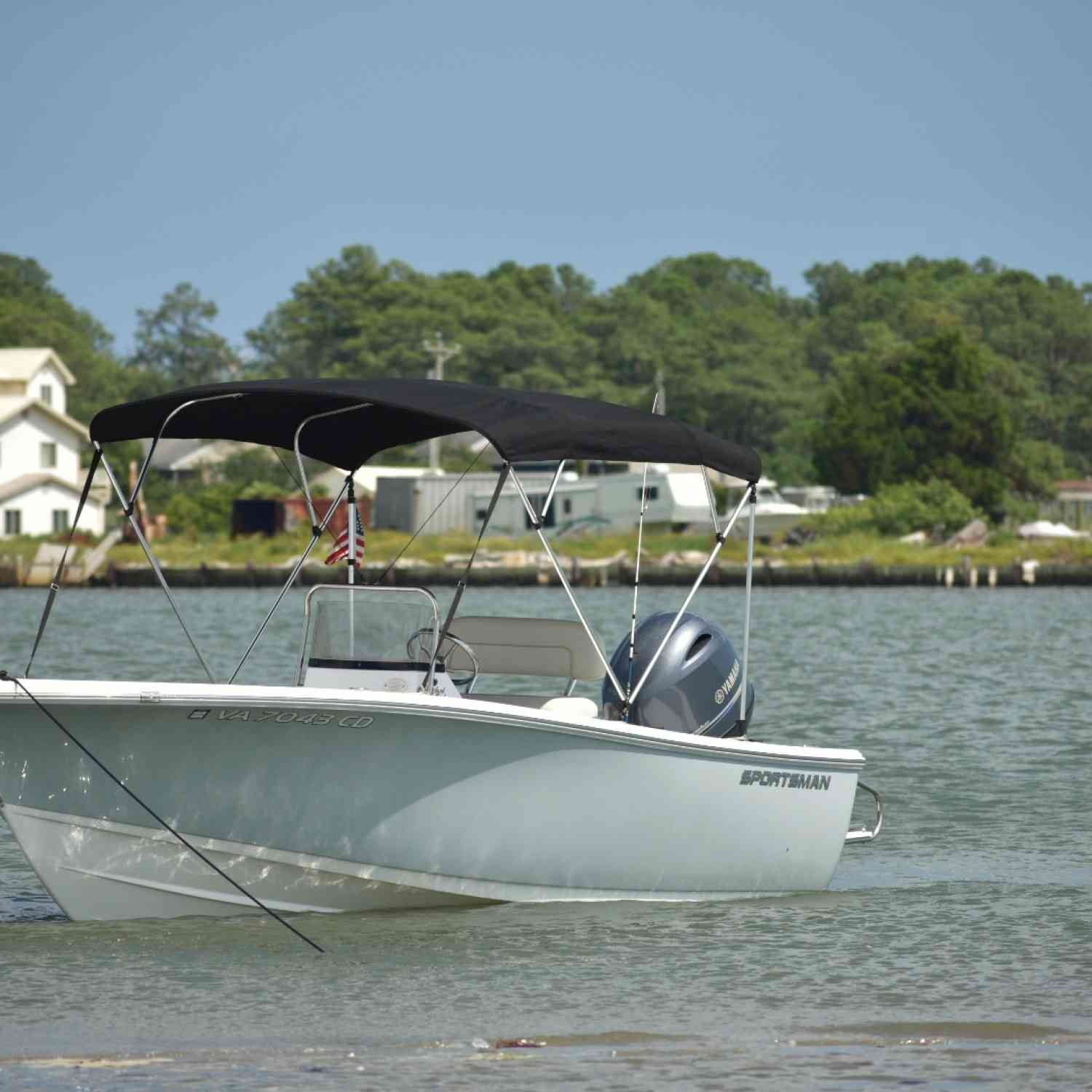 Title: Sportsman a dream come true - On board their Sportsman Island Reef 19 Center Console - Location: Chesterfield. Participating in the Photo Contest #SportsmanSeptember2018