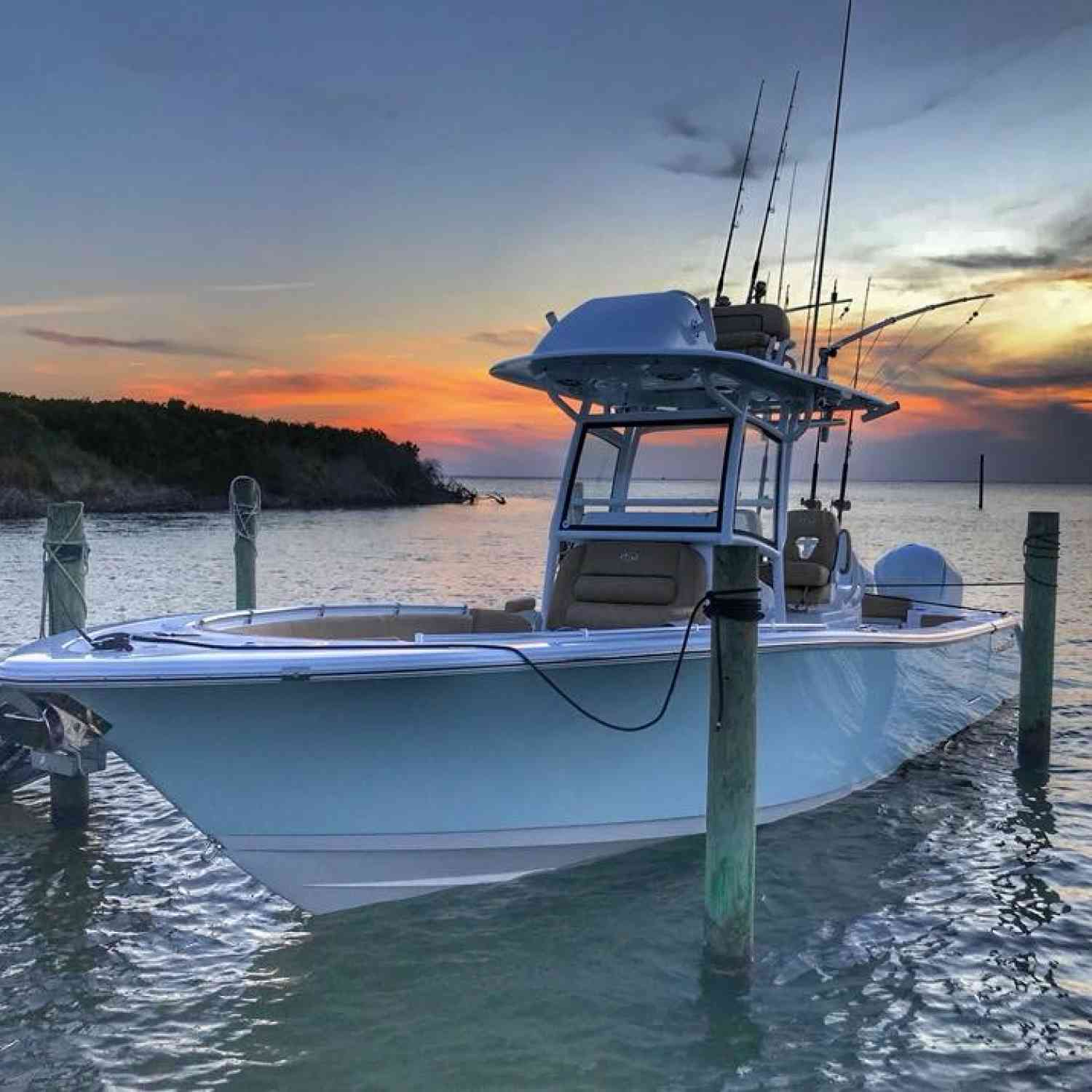 Title: CTO island - On board their Sportsman Open 282TE Center Console - Location: Manteo NC. Participating in the Photo Contest #SportsmanSeptember2018