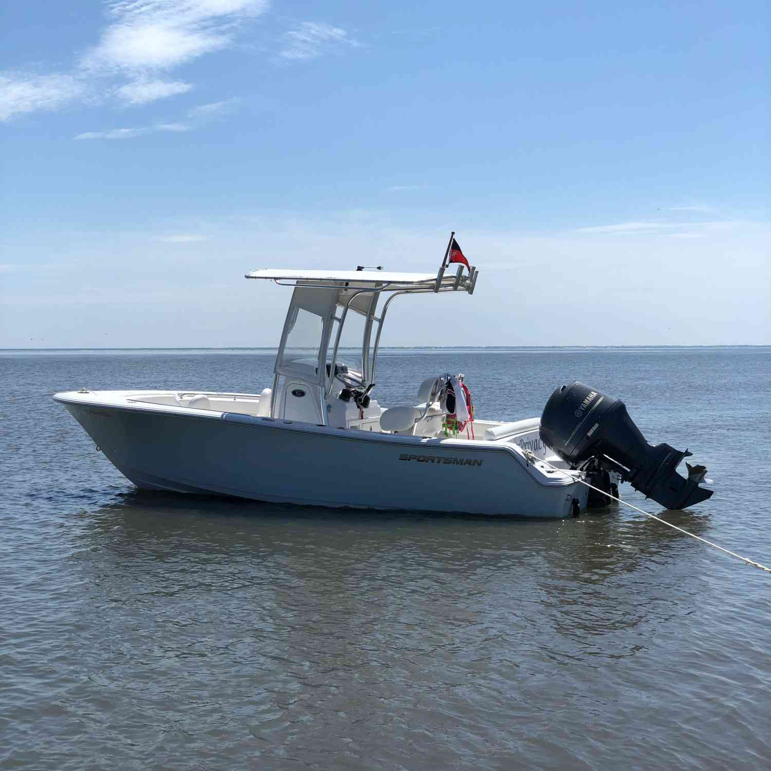 Title: Beach day - On board their Sportsman Heritage 211 Center Console - Location: Charleston,SC. Participating in the Photo Contest #SportsmanSeptember2018