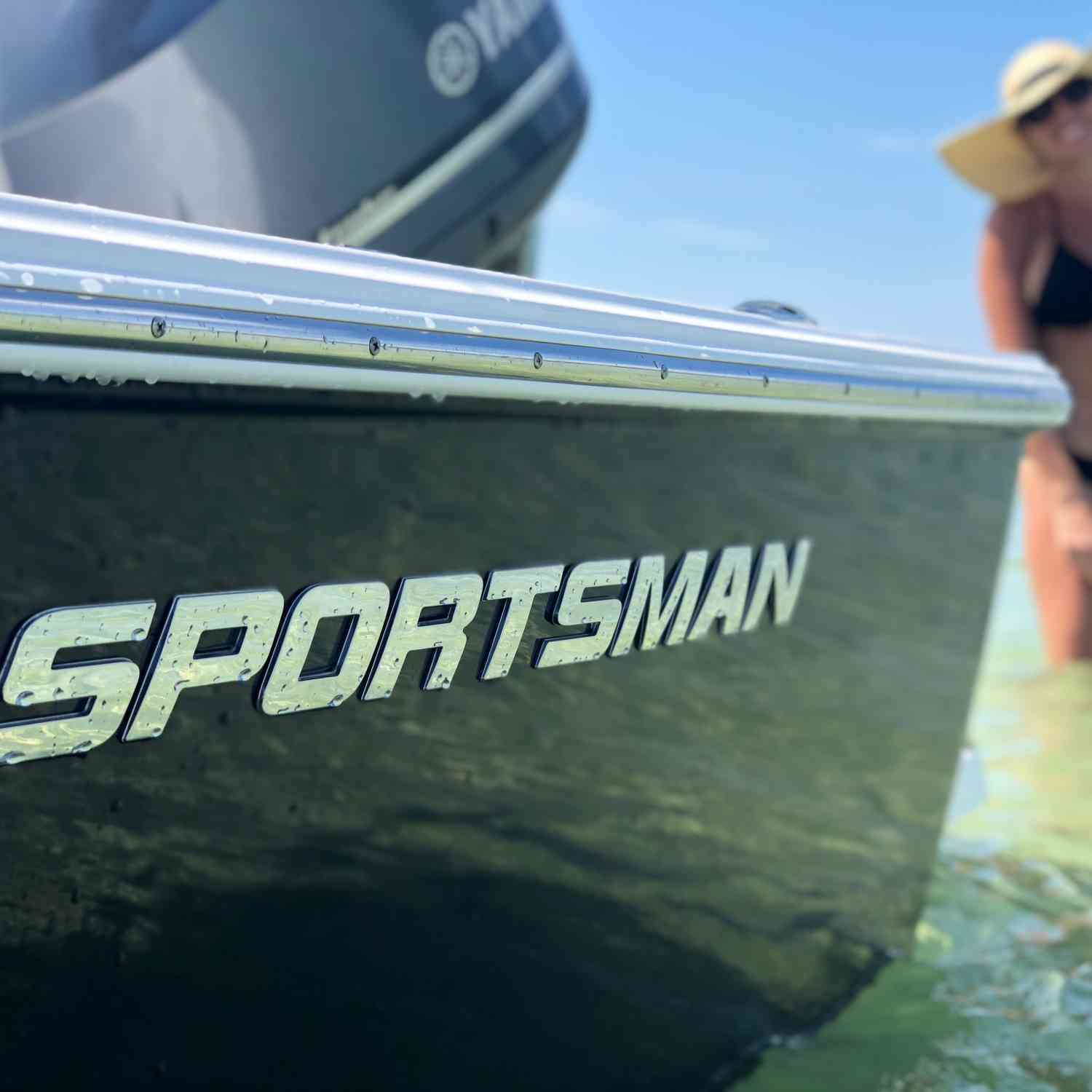 Title: Good lookin - On board their Sportsman Masters 247 Bay Boat - Location: Naples Fl. Participating in the Photo Contest #SportsmanSeptember2018