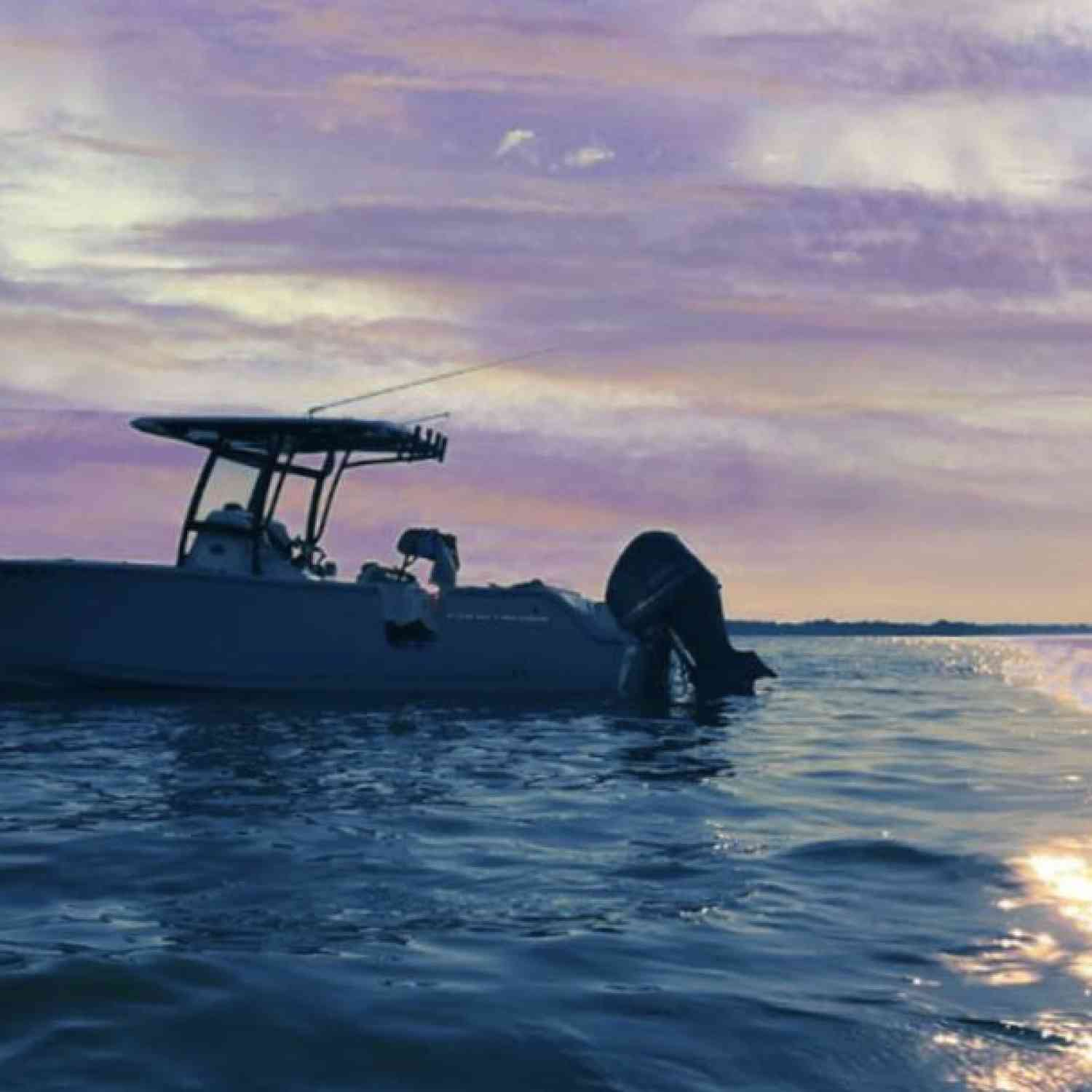 Title: Life on the Water - On board their Sportsman Heritage 251 Center Console - Location: Chesapeake Bay. Participating in the Photo Contest #SportsmanSeptember2018