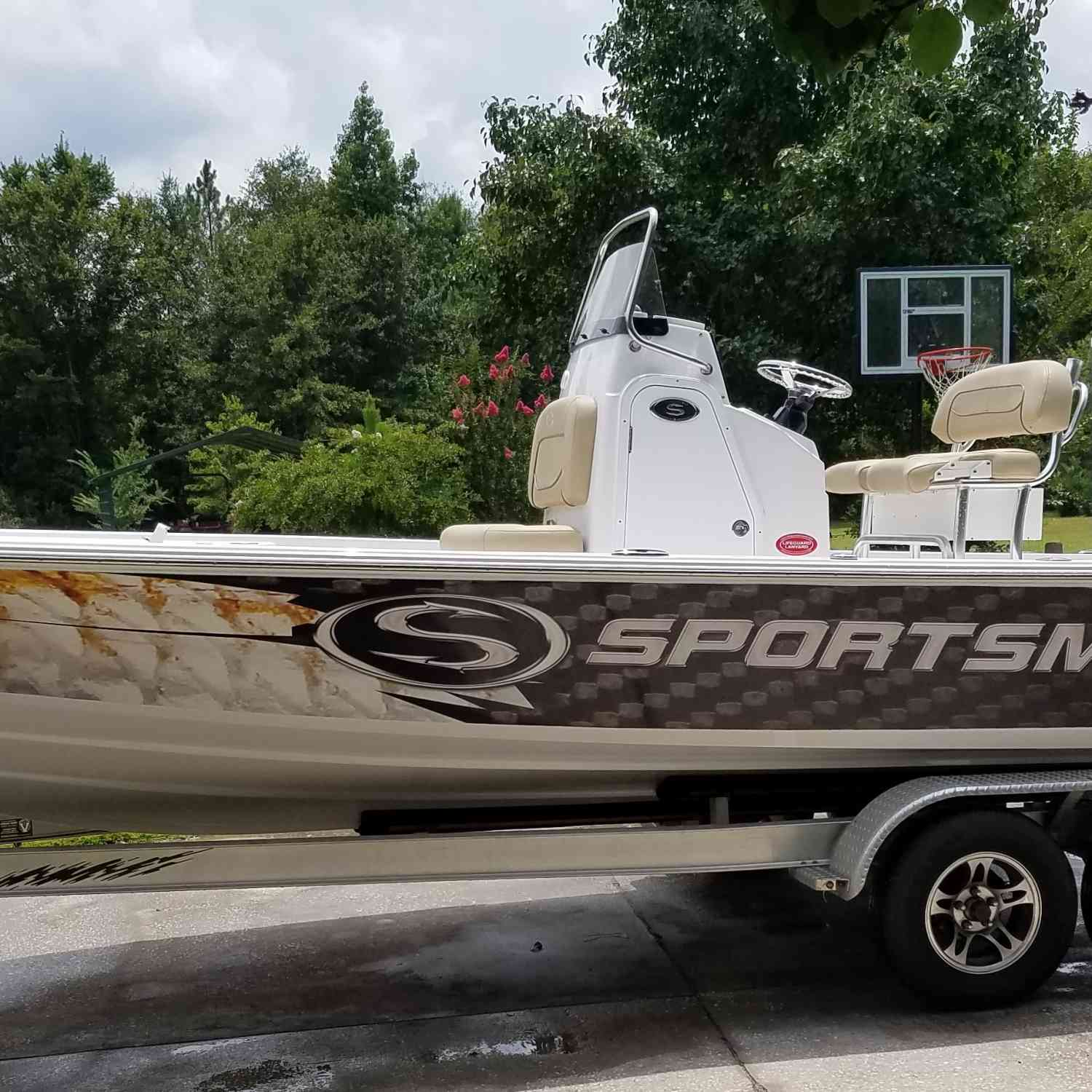Title: Ready for the water. - On board their Sportsman Tournament 234 Bay Boat - Location: Ludowici Ga. Participating in the Photo Contest #SportsmanApril2019