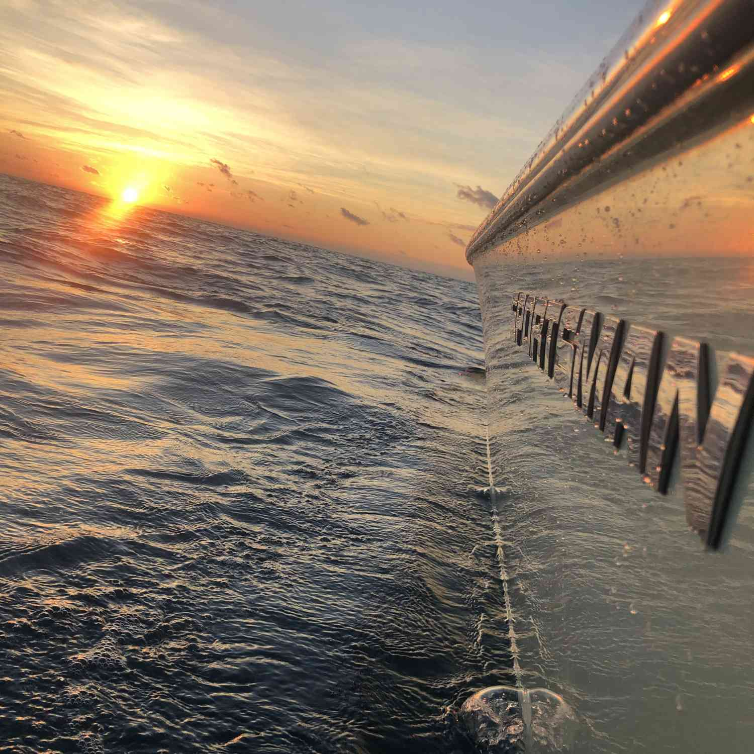 Title: Florida Keys sunrise - On board their Sportsman Masters 227 Bay Boat - Location: Marathon Florida. Participating in the Photo Contest #SportsmanDecember2019