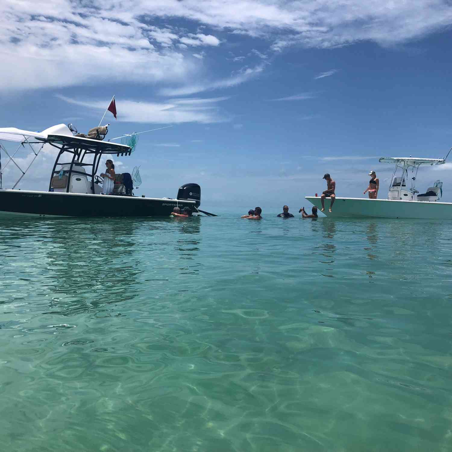 Title: Lazy day in the keys - On board their Sportsman Masters 267 Bay Boat - Location: Marathon fl. Participating in the Photo Contest #SportsmanFebruary2019