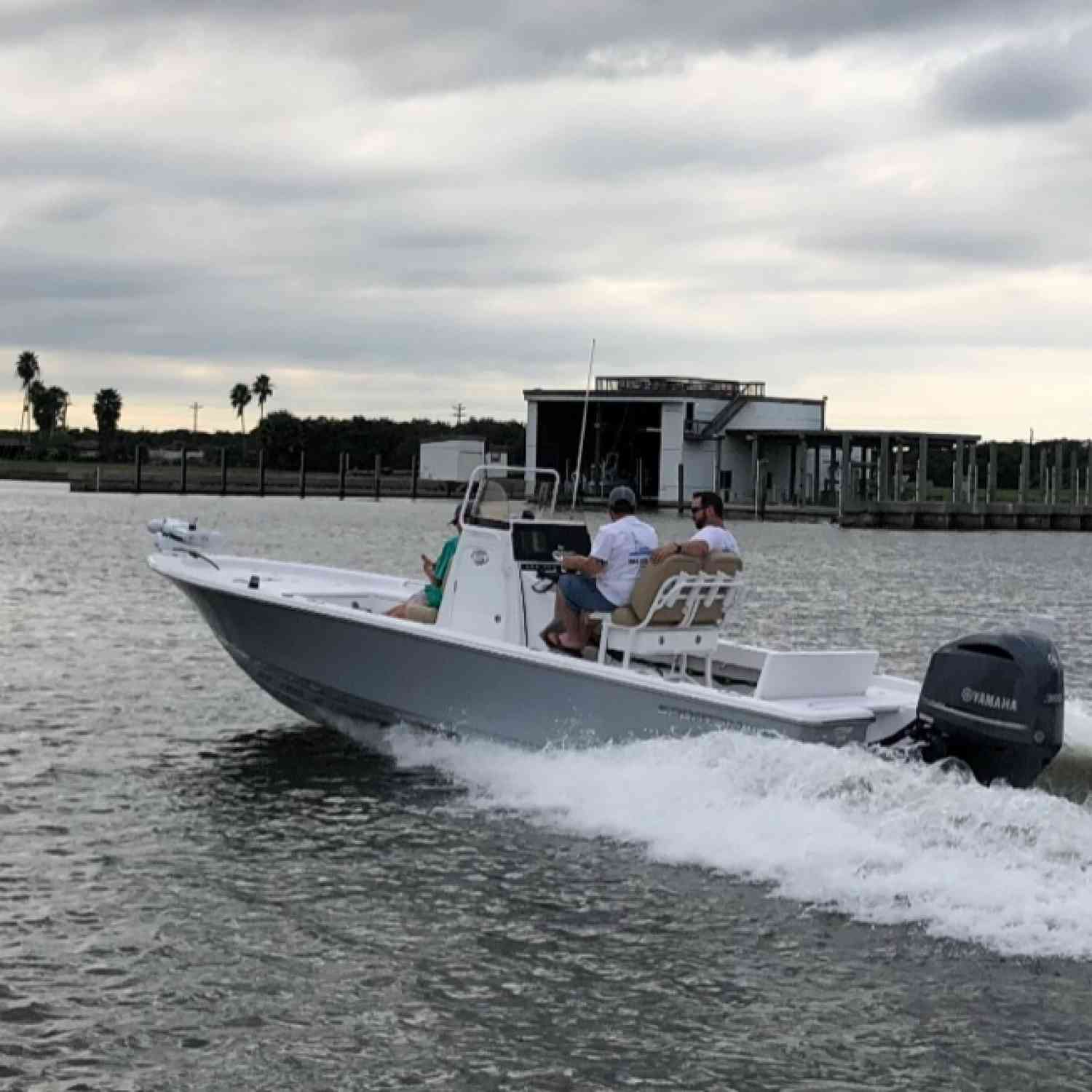 Title: POC Texas! Sportsman Boat Owners - On board their Sportsman Masters 247 Bay Boat - Location: POC, Texas. Participating in the Photo Contest #SportsmanFebruary2019