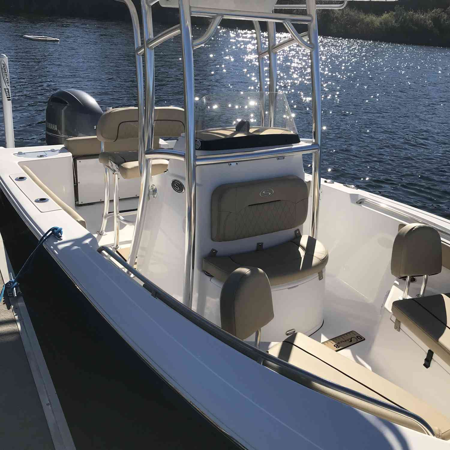 Title: Ready for a day on the Water - On board their Sportsman Open 212 Center Console - Location: Tampa, Fl. Participating in the Photo Contest #SportsmanFebruary2019