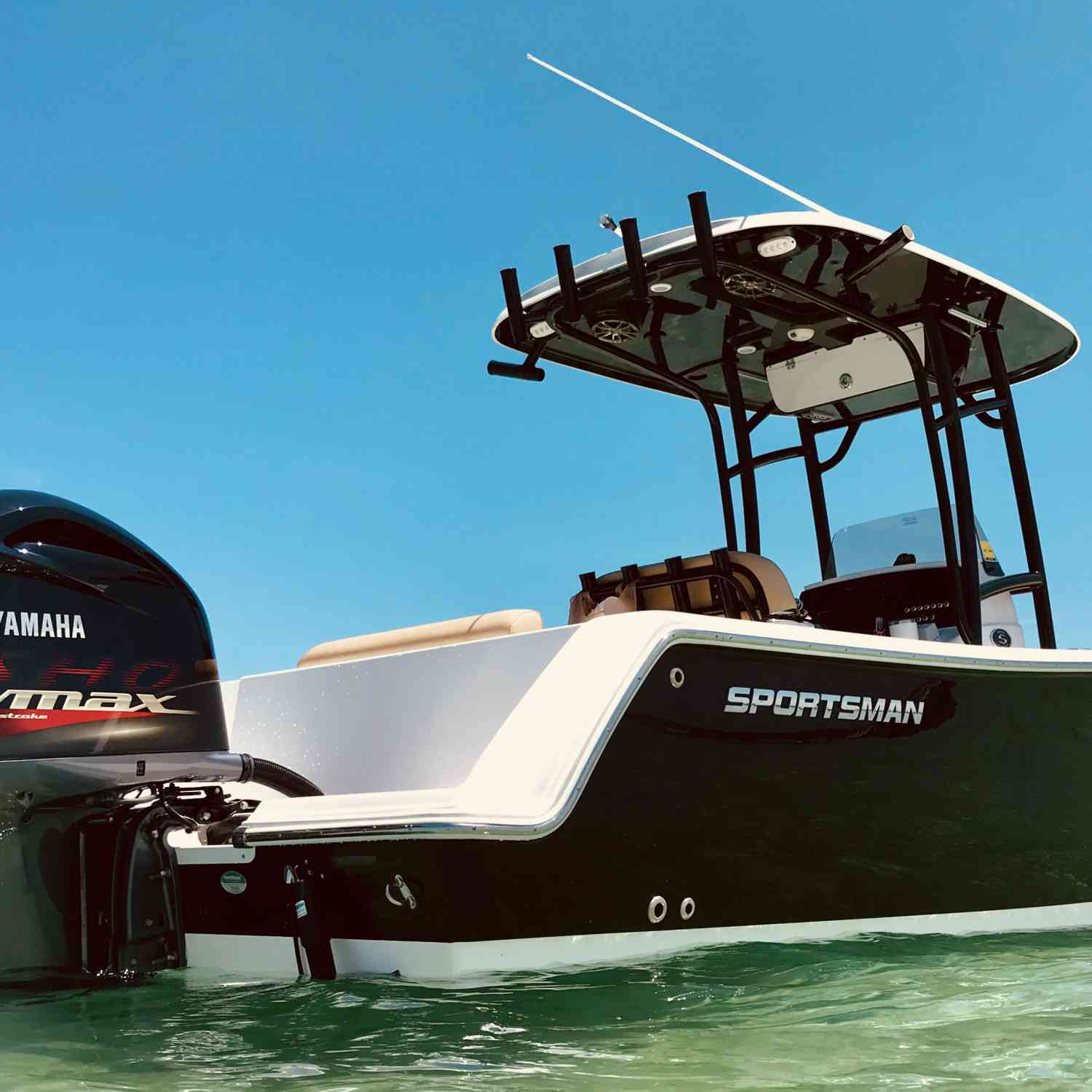 Title: Crab Island - On board their Sportsman Open 232 Center Console - Location: Destin, FL. Participating in the Photo Contest #SportsmanFebruary2019