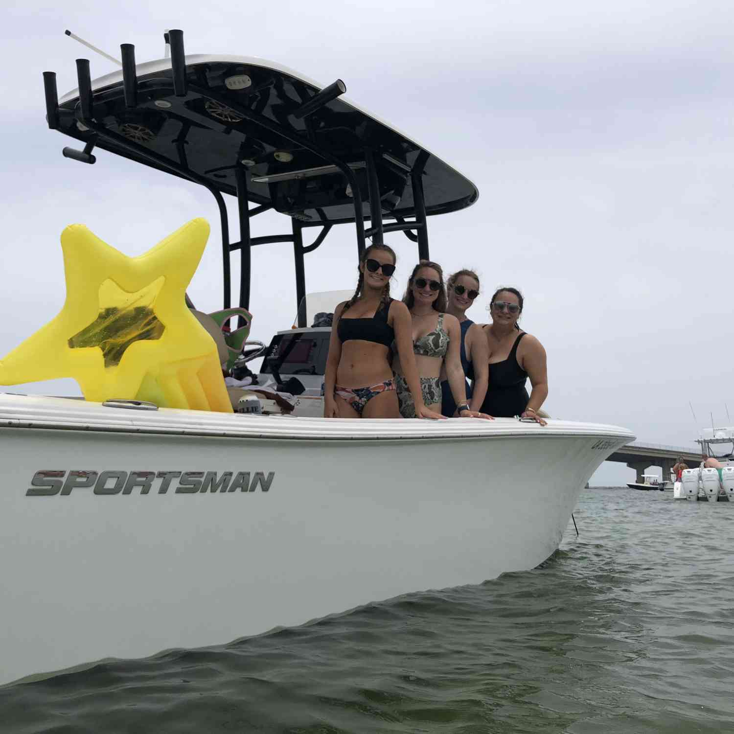 Title: Summer Fun - On board their Sportsman Open 232 Center Console - Location: Orange Beach, Al. Participating in the Photo Contest #SportsmanJuly2019