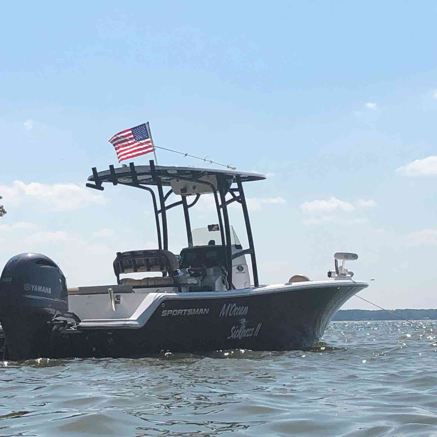 Title: Chillin' on Memorial Day - On board their Sportsman Open 212 Center Console - Location: Lake Murray, SC. Participating in the Photo Contest #SportsmanJune2019
