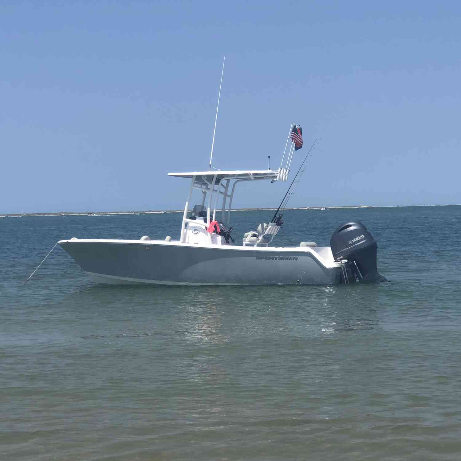 Title: Chill-axing - On board their Sportsman Open 212 Center Console - Location: Cape Lookout, NC. Participating in the Photo Contest #SportsmanJune2019