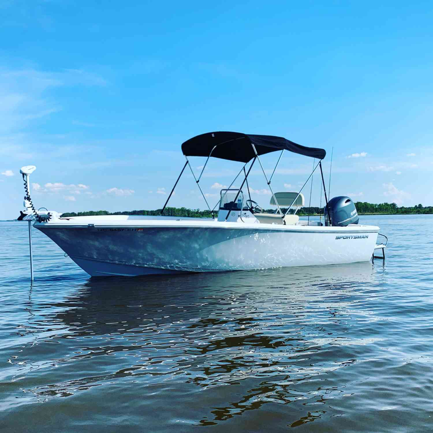 Title: Pamlico Get Away - On board their Sportsman Island Reef 19 Center Console - Location: Greenville NC. Participating in the Photo Contest #SportsmanJune2019