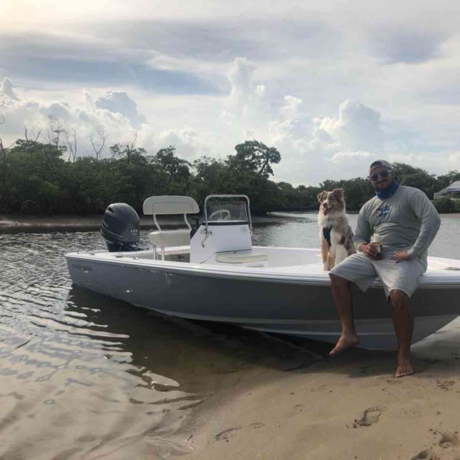 Title: Break in ride - On board their Sportsman Island Bay 20 Bay Boat - Location: Ft.lauderdale. Participating in the Photo Contest #SportsmanMarch2019