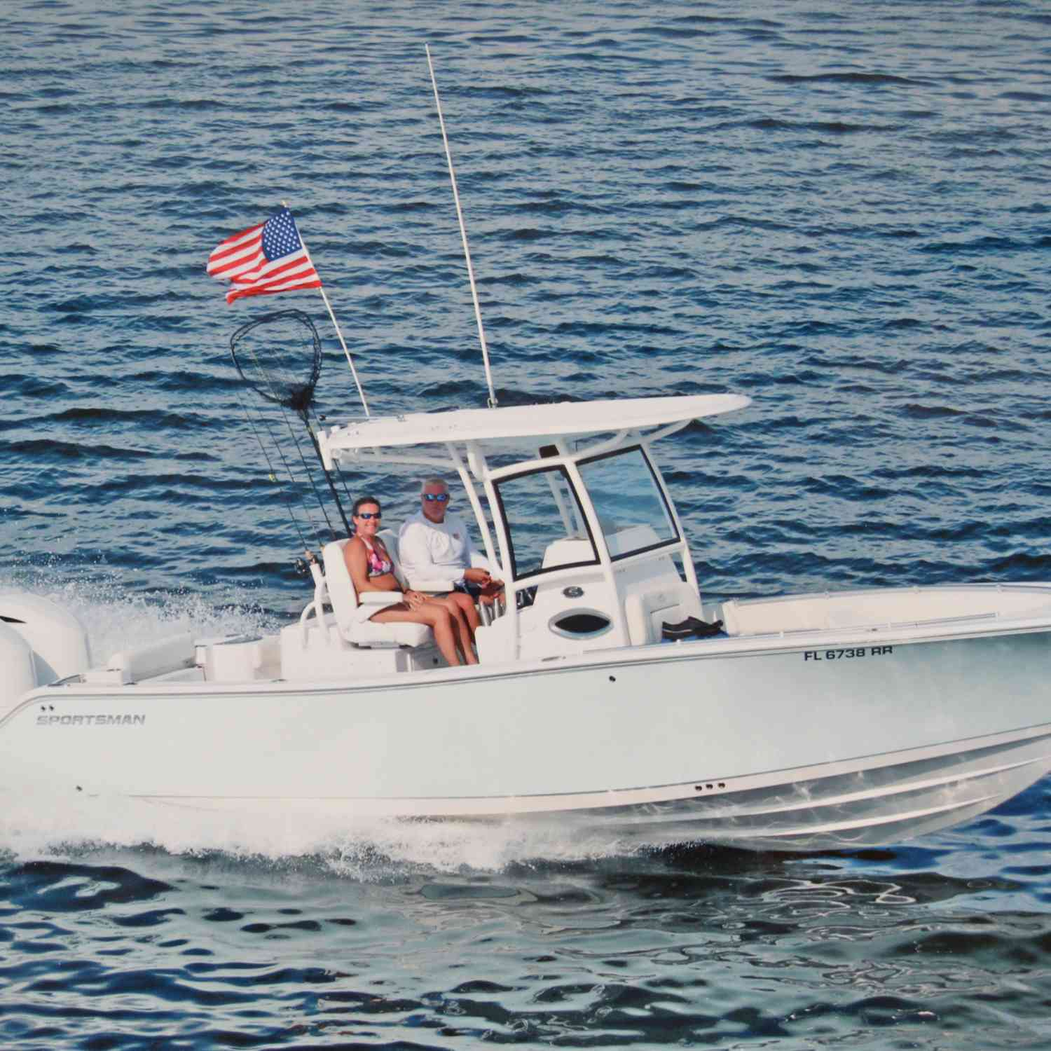 Title: Headin' Home - On board their Sportsman Open 282 Center Console - Location: Pine Island Sound, FL. Participating in the Photo Contest #SportsmanMay2019