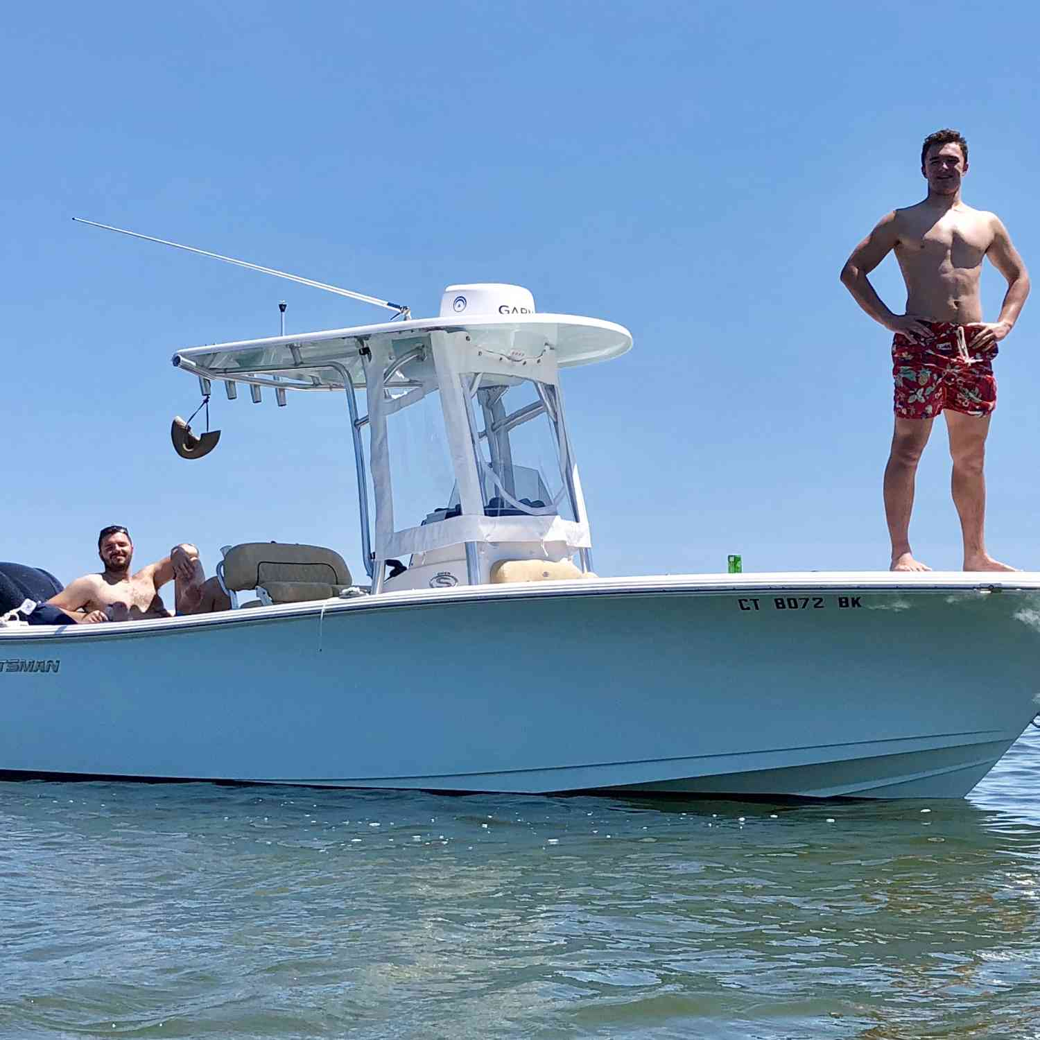 Title: Summertime! - On board their Sportsman Open 232 Center Console - Location: Niantic River. Participating in the Photo Contest #SportsmanNovember2019