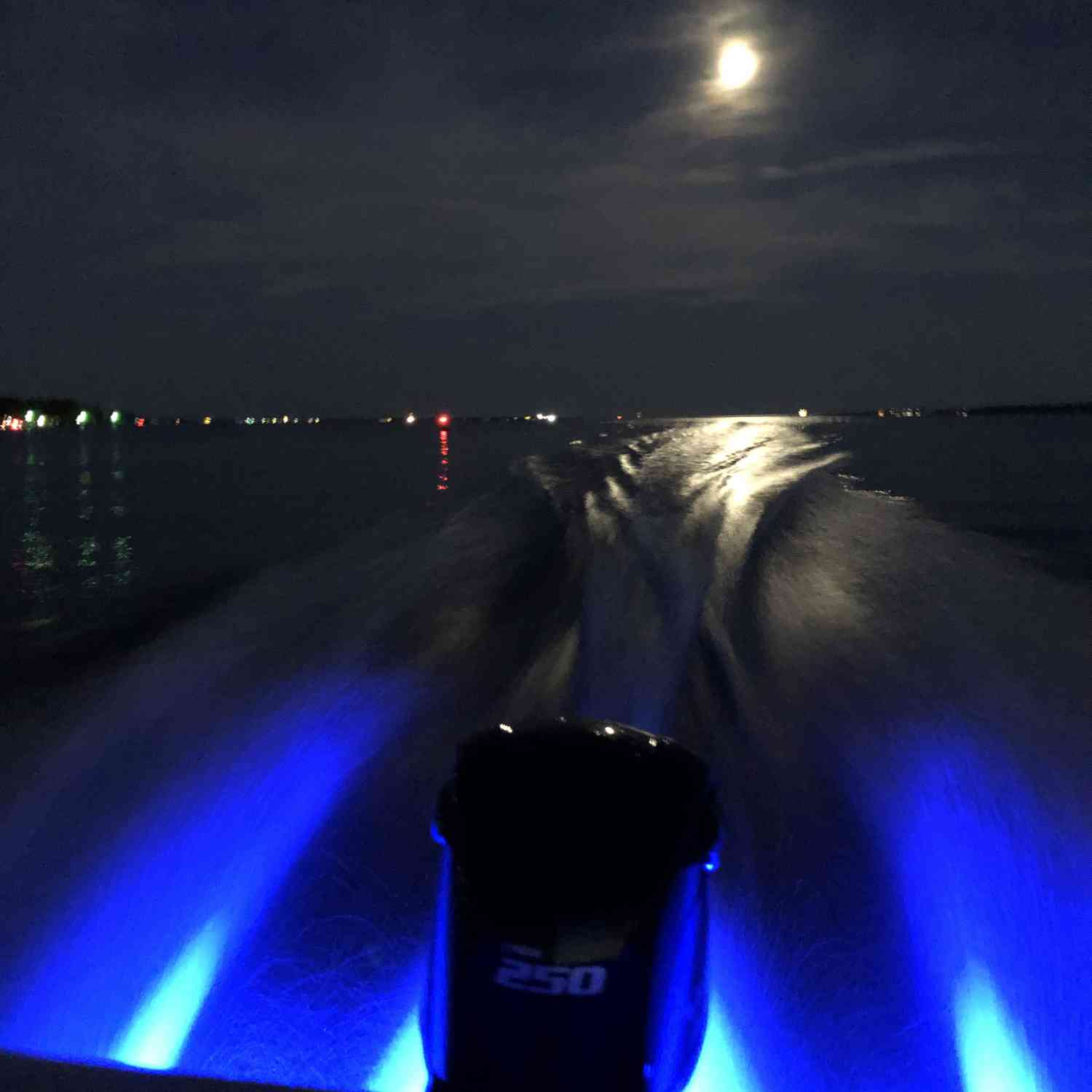 Title: Moon light cruise - On board their Sportsman Heritage 231 Center Console - Location: Charleston, SC. Participating in the Photo Contest #SportsmanOctober2019