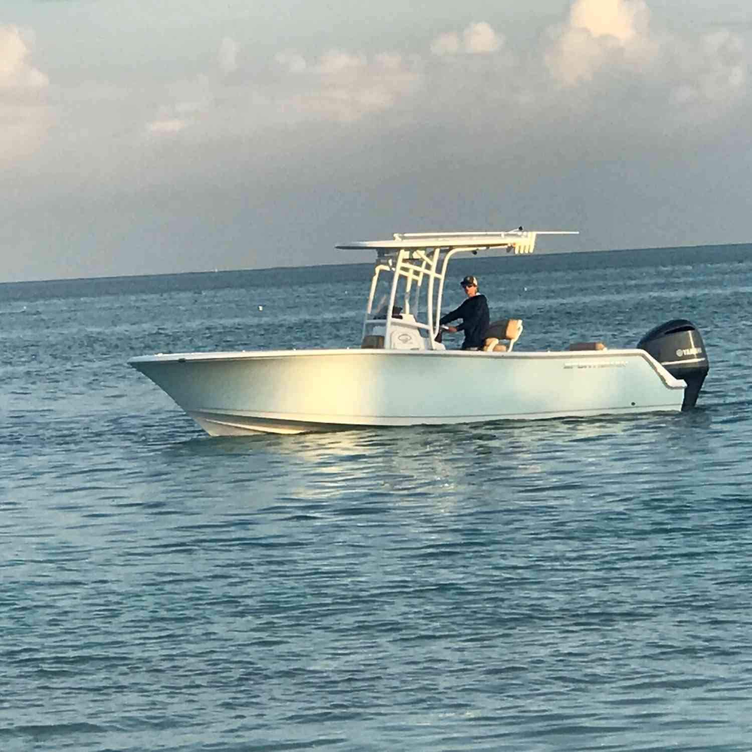 Title: Crusing - On board their Sportsman Open 232 Center Console - Location: Florida. Participating in the Photo Contest #SportsmanOctober2019