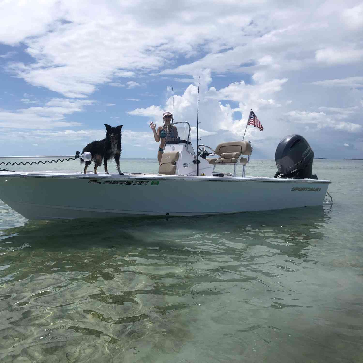 Title: Fun times in Islamorada - On board their Sportsman Masters 207 Bay Boat - Location: Islamorada, Fl. Participating in the Photo Contest #SportsmanSeptember2019