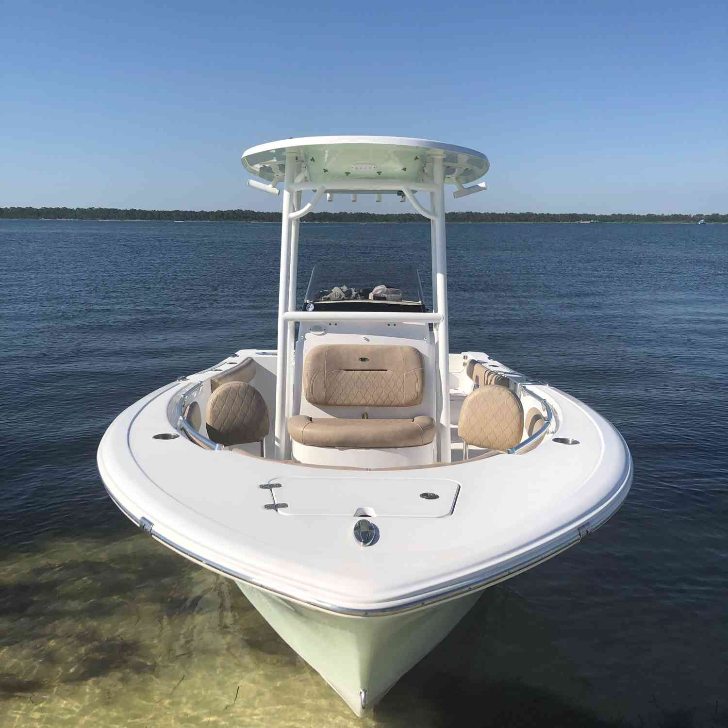 Title: Perfect Afternoon Getaway - On board their Sportsman Open 212 Center Console - Location: Pensacola, FL. Participating in the Photo Contest #SportsmanSeptember2019