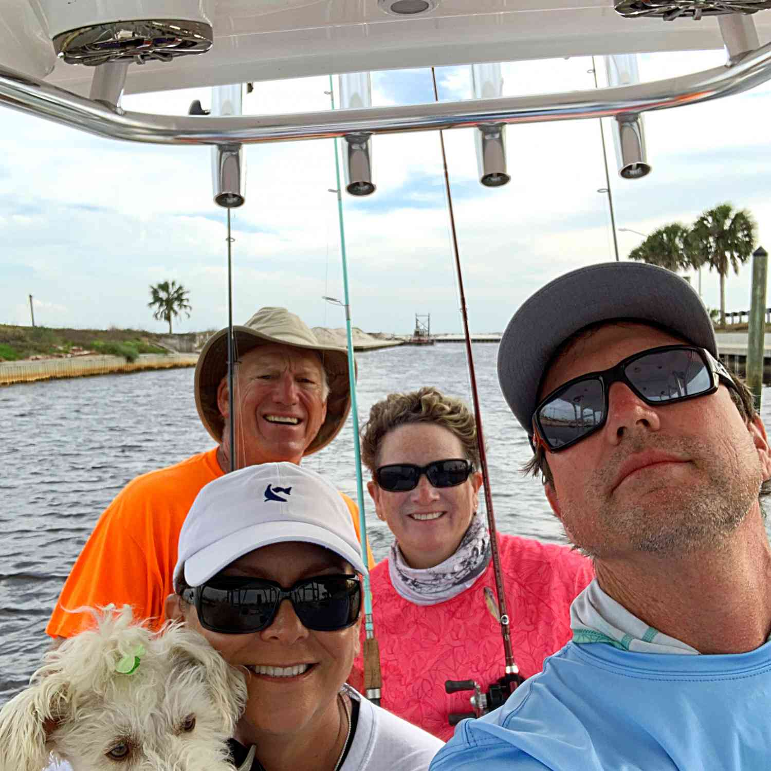 Title: Last Day away on the water! - On board their Sportsman Masters 247 Bay Boat - Location: Mexico Beach, FL. Participating in the Photo Contest #SportsmanApril2020