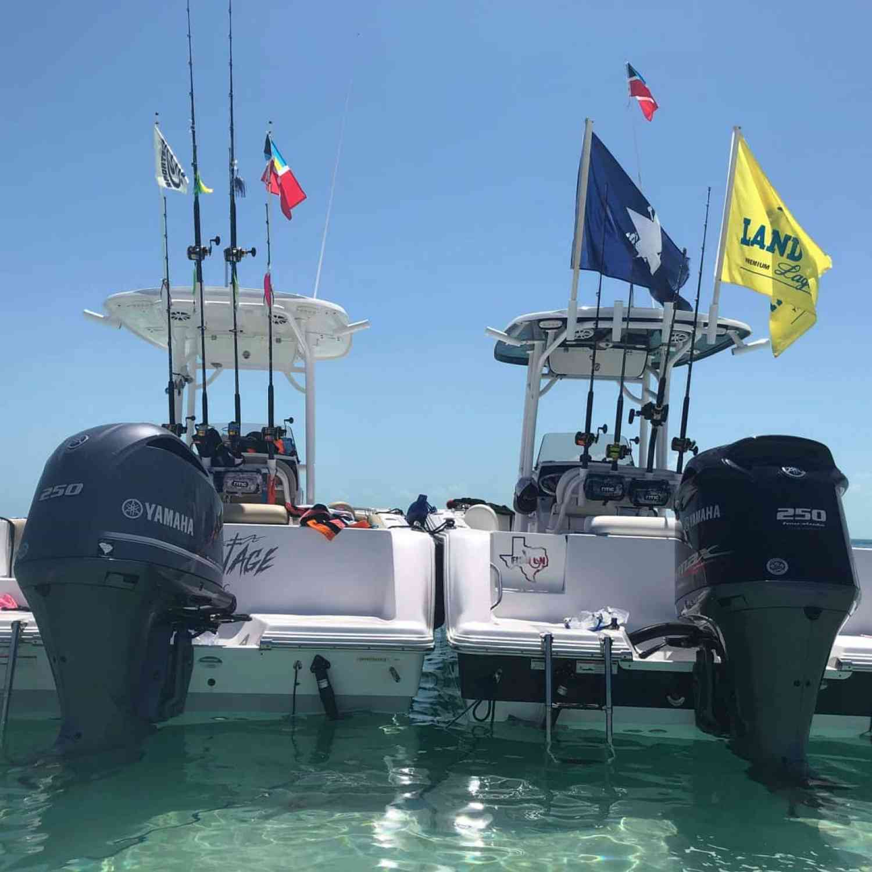 Title: Bimini - On board their Sportsman Open 232 Center Console - Location: Bimini, Bahamas. Participating in the Photo Contest #SportsmanApril2020