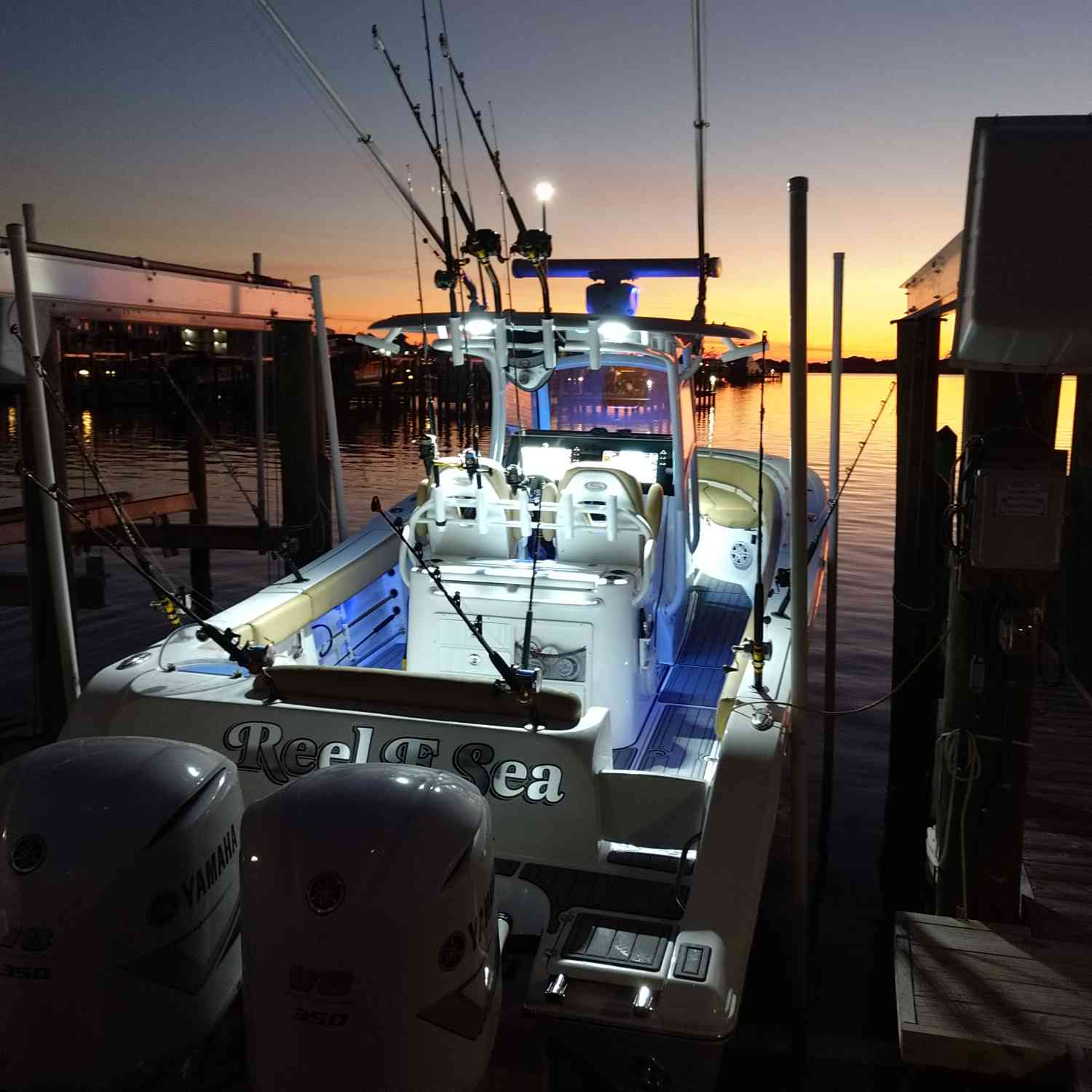 Title: Early morning fishing trip - On board their Sportsman Open 312 Center Console - Location: Orange Beach , Al. Participating in the Photo Contest #SportsmanApril2020
