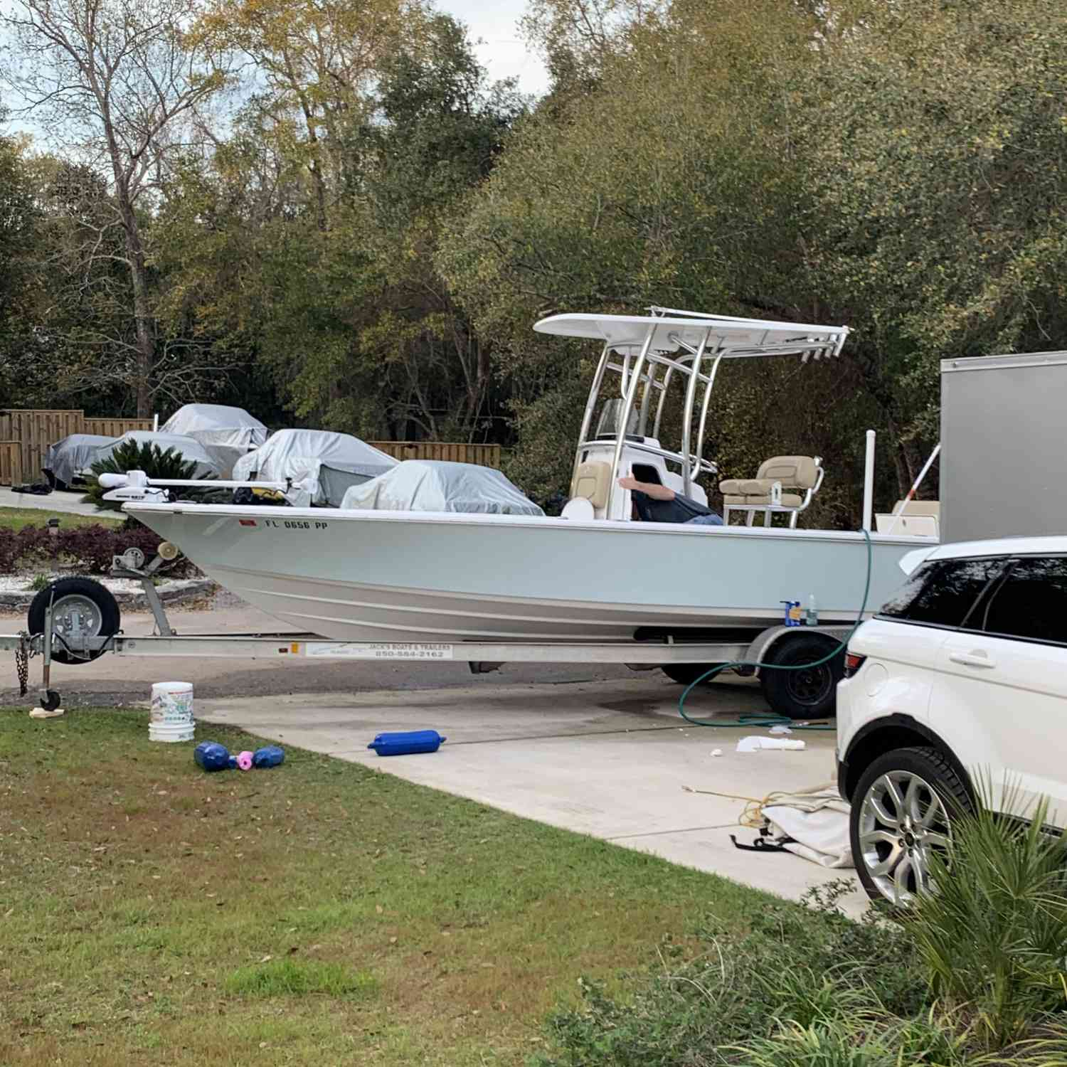 Title: Ready to get on the water! - On board their Sportsman Masters 247 Bay Boat - Location: Perdido Key, FL. Participating in the Photo Contest #SportsmanApril2020