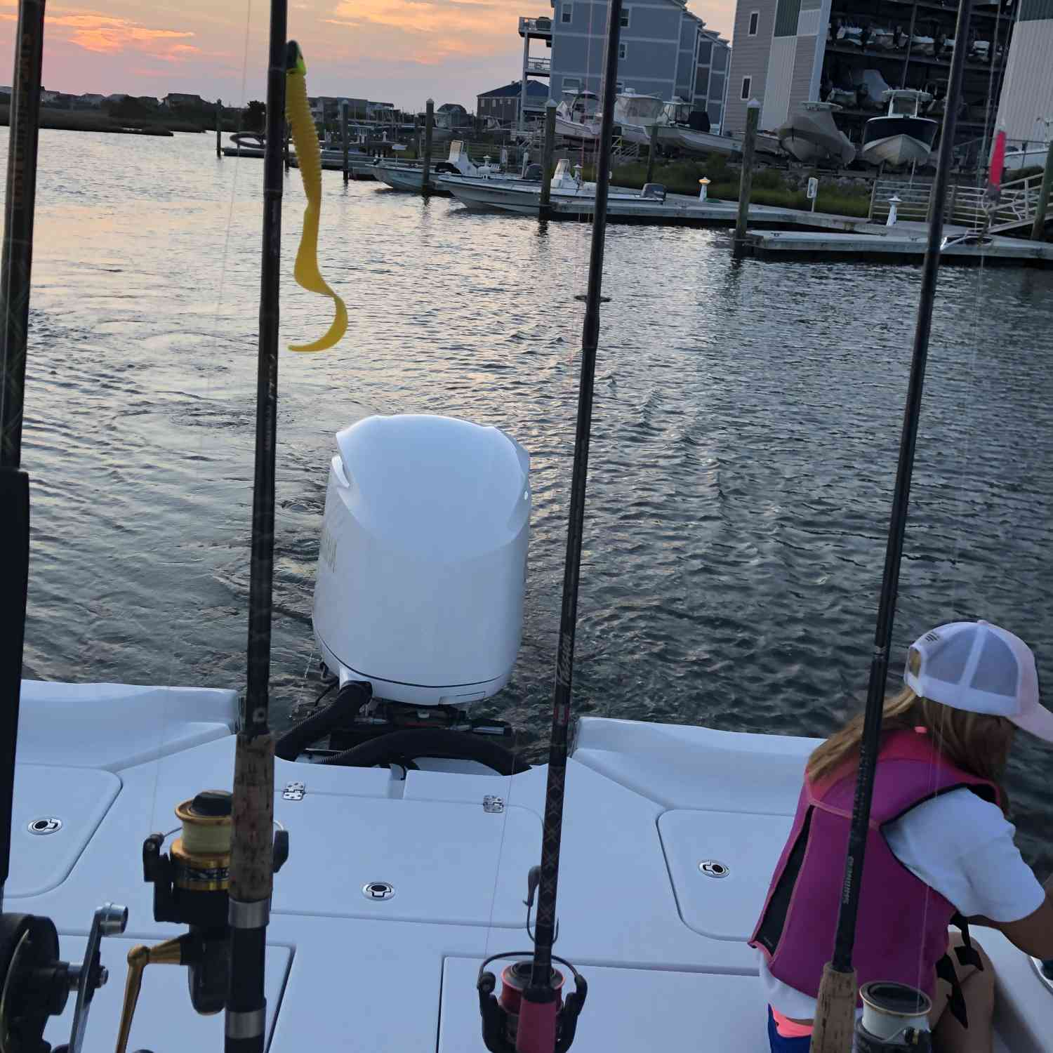 Title: Getting ready for a epic day fishing - On board their Sportsman Masters 267 Bay Boat - Location: Surf City, NC. Participating in the Photo Contest #SportsmanApril2020