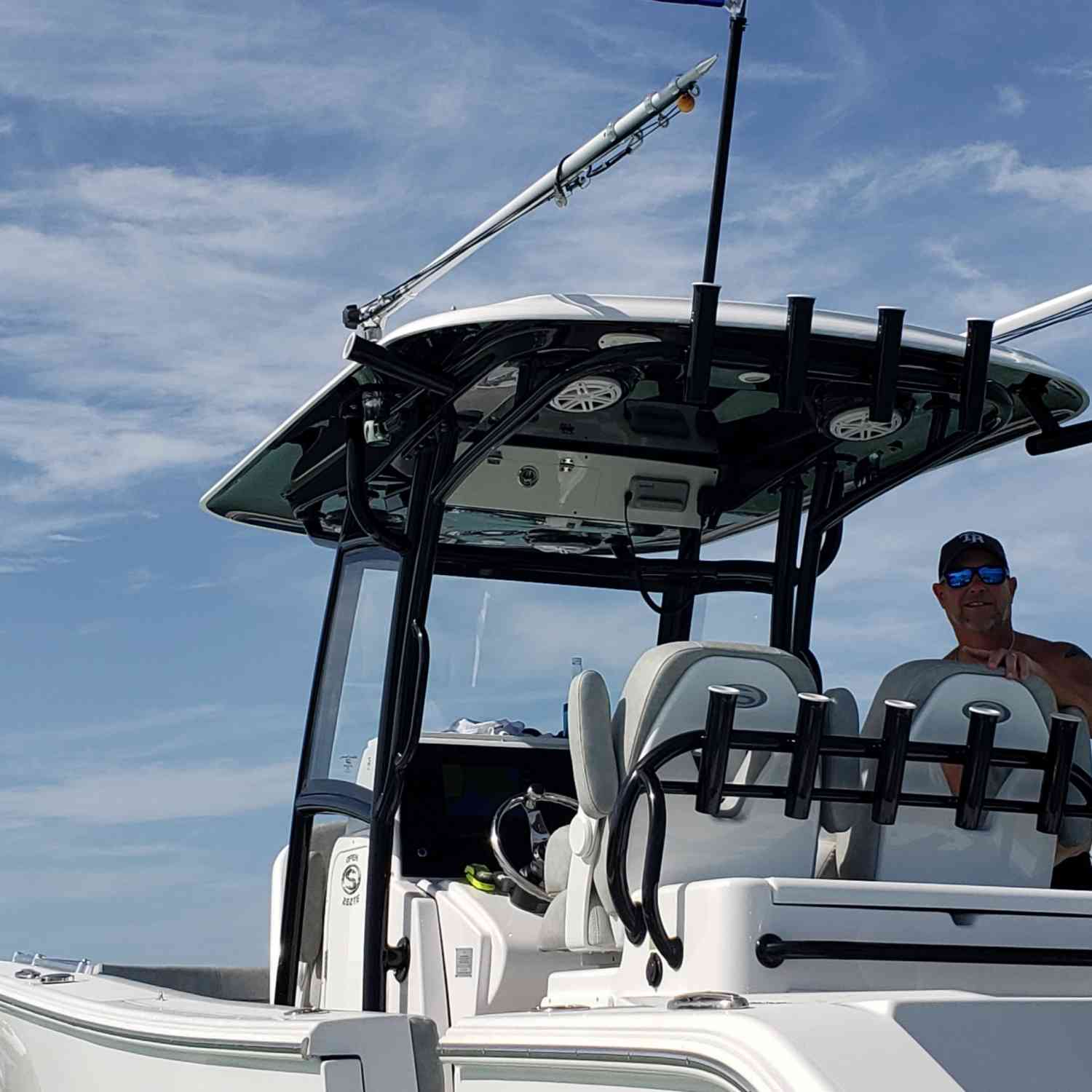Title: Lets make boating great again - On board their Sportsman Open 282TE Center Console - Location: anna maria Island florida. Participating in the Photo Contest #SportsmanAugust2020