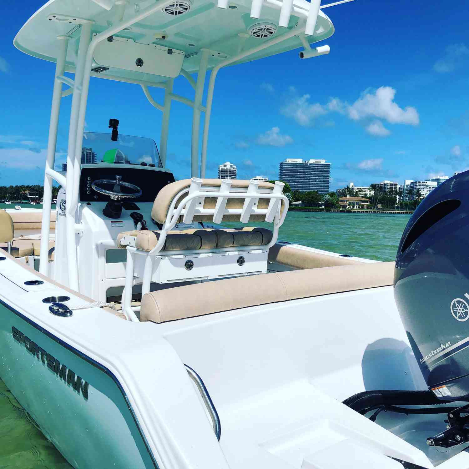 Title: Heritage 211 - On board their Sportsman Heritage 211 Center Console - Location: Haulover. Participating in the Photo Contest #SportsmanAugust2020