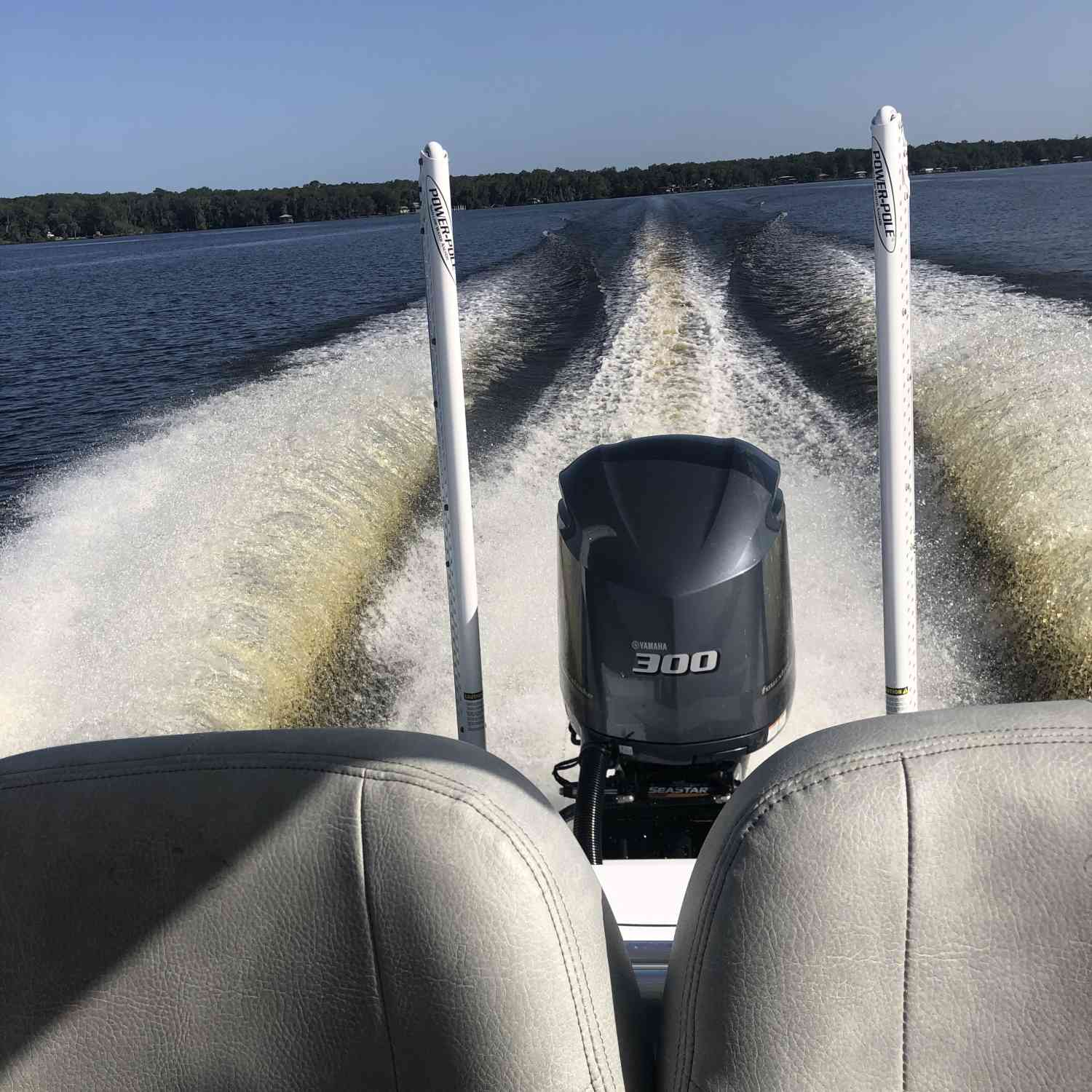 Title: River Run - On board their Sportsman Masters 247 Bay Boat - Location: St Johns River. Participating in the Photo Contest #SportsmanAugust2020